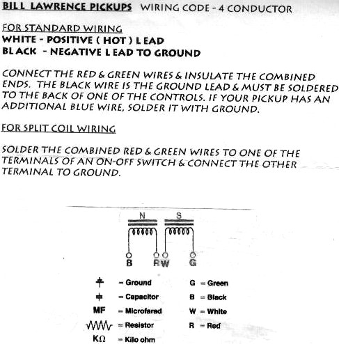 bill lawrence l500xl wiring diagram automotive wiring diagram rh wealthmanagers co Bill Lawrence Wiring Color Code Bill Lawrence P46