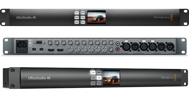 Ultrastudio 4k Blackmagic Design Ultrastudio 4k Audiofanzine