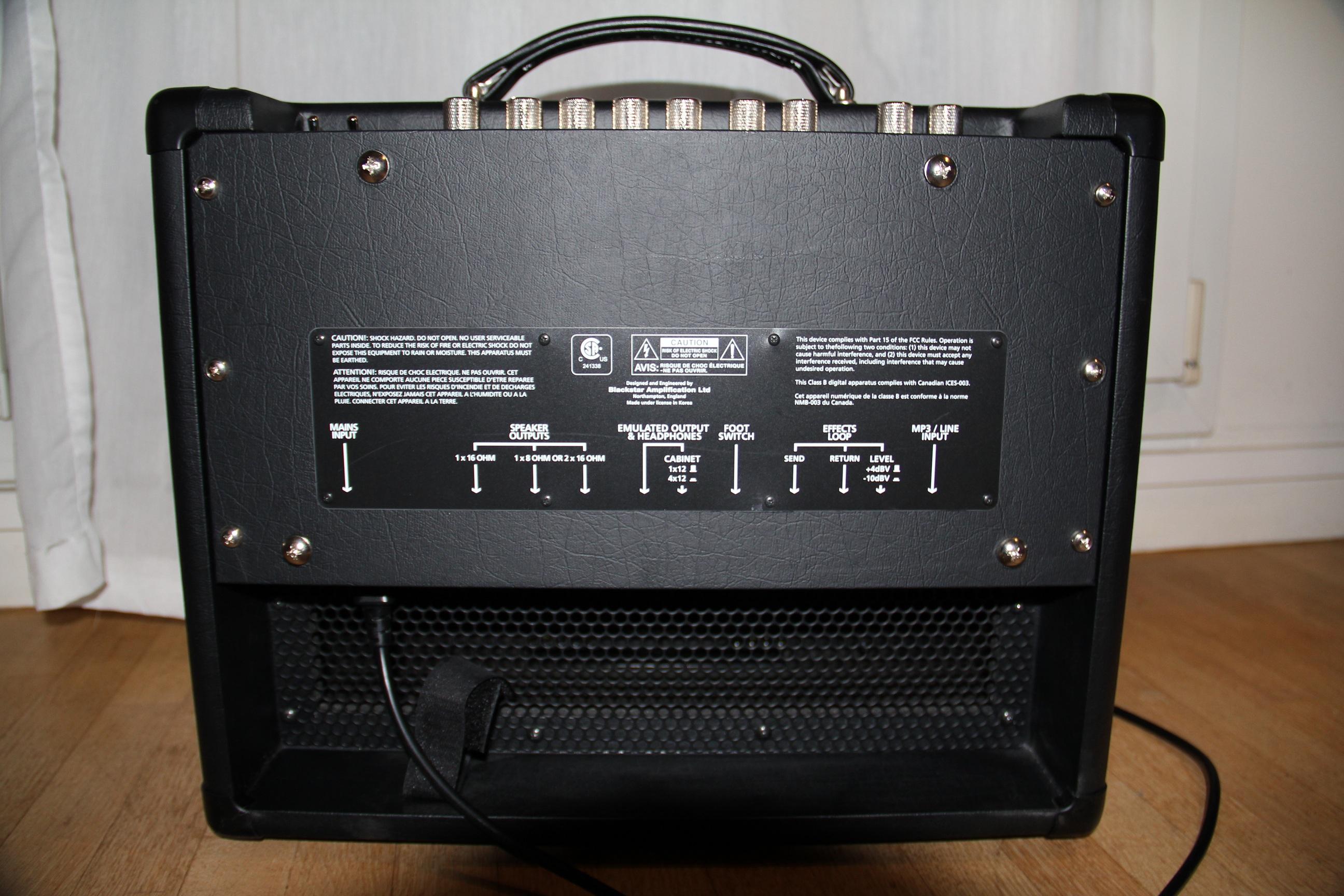 blackstar amplification ht 5r image 474608 audiofanzine. Black Bedroom Furniture Sets. Home Design Ideas