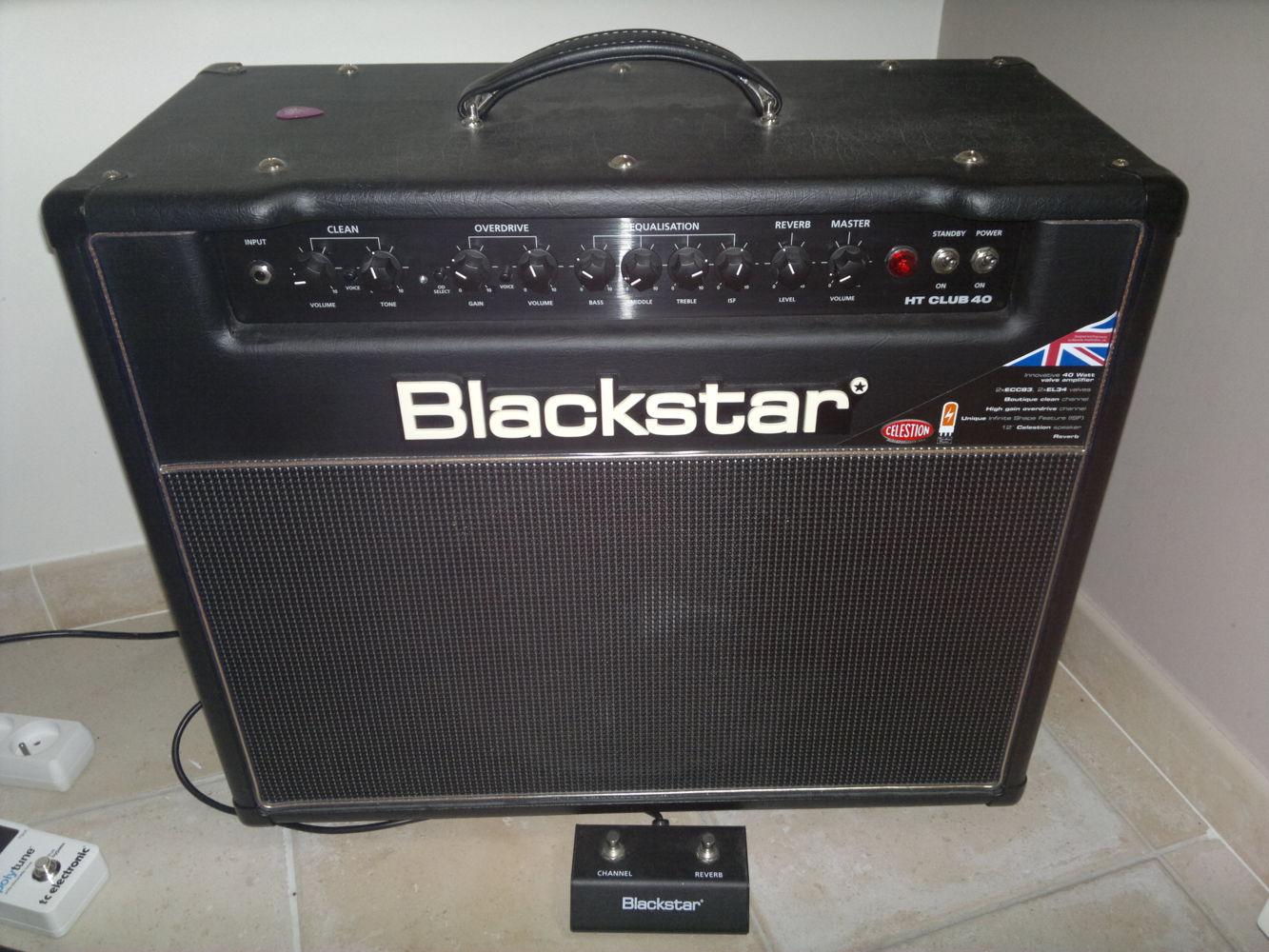 blackstar amplification ht club 40 image 673502 audiofanzine. Black Bedroom Furniture Sets. Home Design Ideas