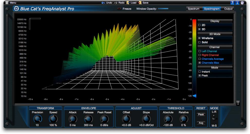 analyseur de spectre vst