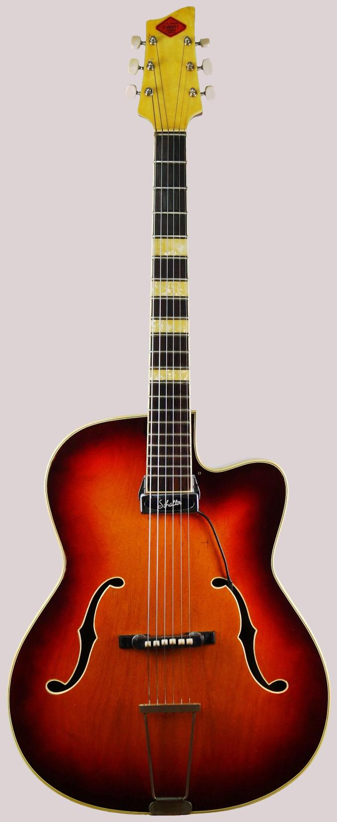 boosey and hawkes lafleur varsity archtop guitar