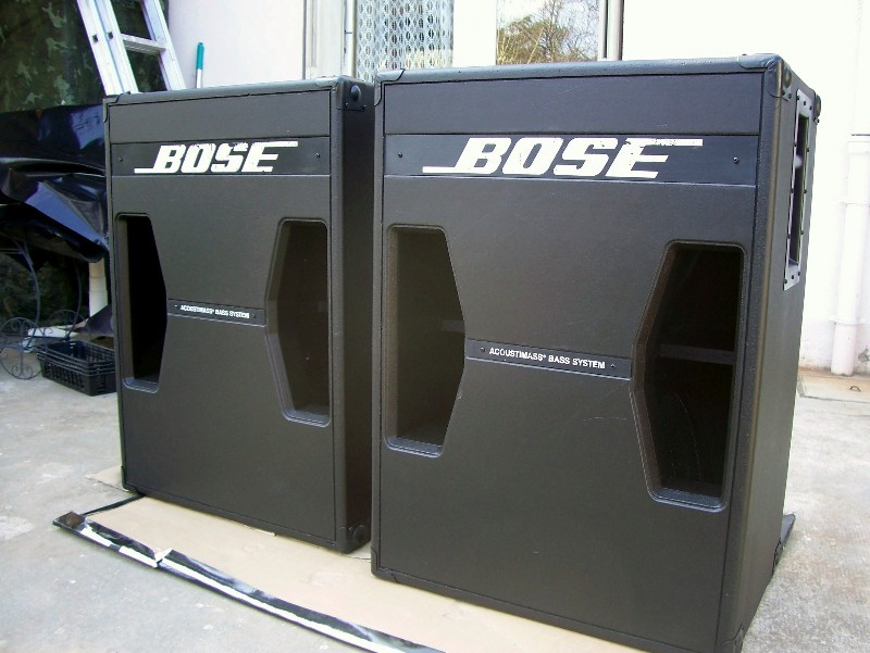 photo bose 302 bose caisson de bass 302 68267 audiofanzine. Black Bedroom Furniture Sets. Home Design Ideas