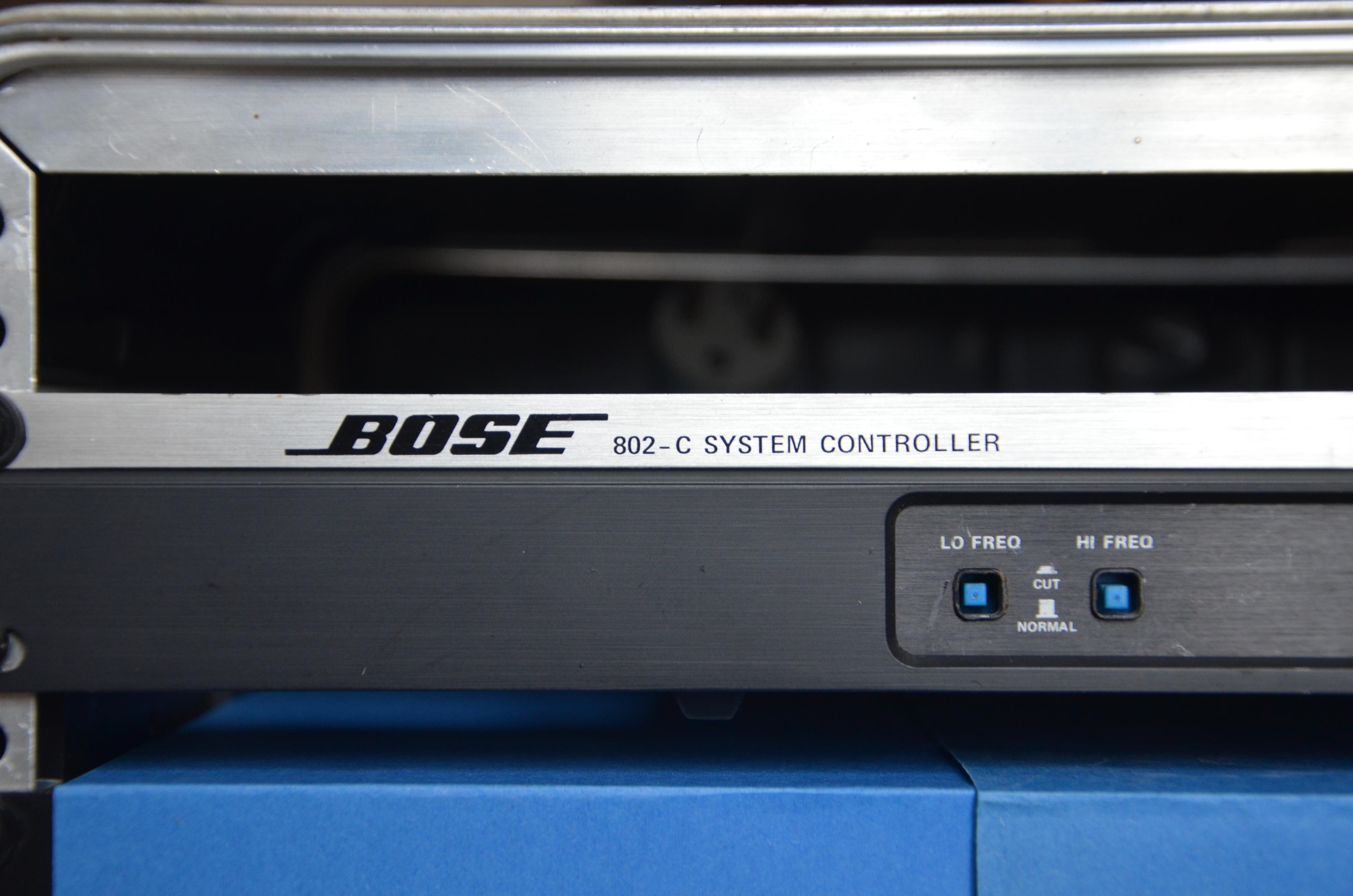 bose 802 controller. bose 802-c system controller dddu48 images 802