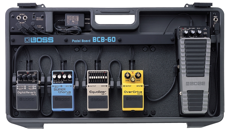 Bcb 6 Pedal Board Boss Bcb 6 Pedal Board Audiofanzine