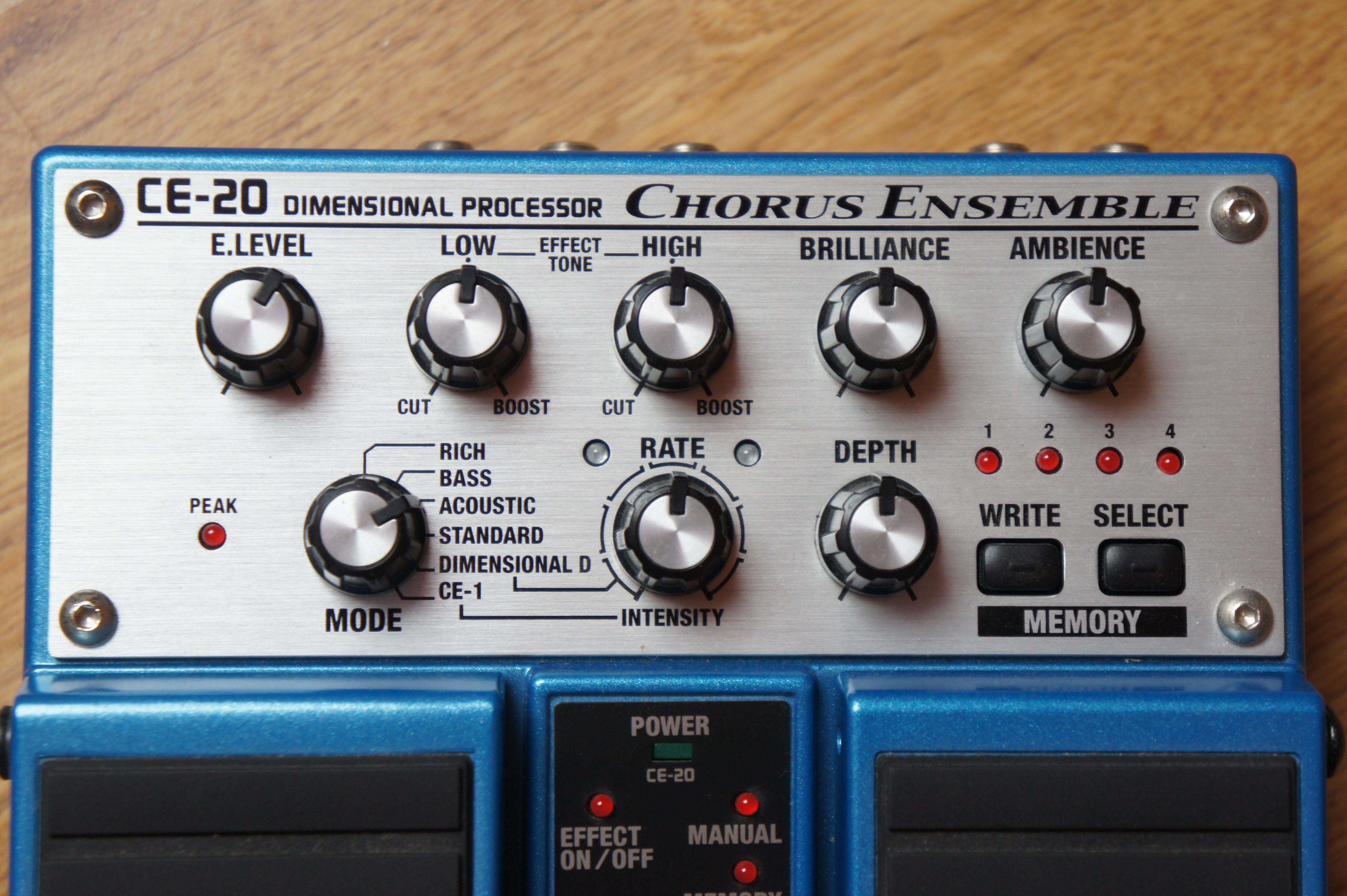 Boss Ce 20 : photo boss ce 20 chorus ensemble boss ce 20 chorus ensemble 15086 429877 audiofanzine ~ Vivirlamusica.com Haus und Dekorationen