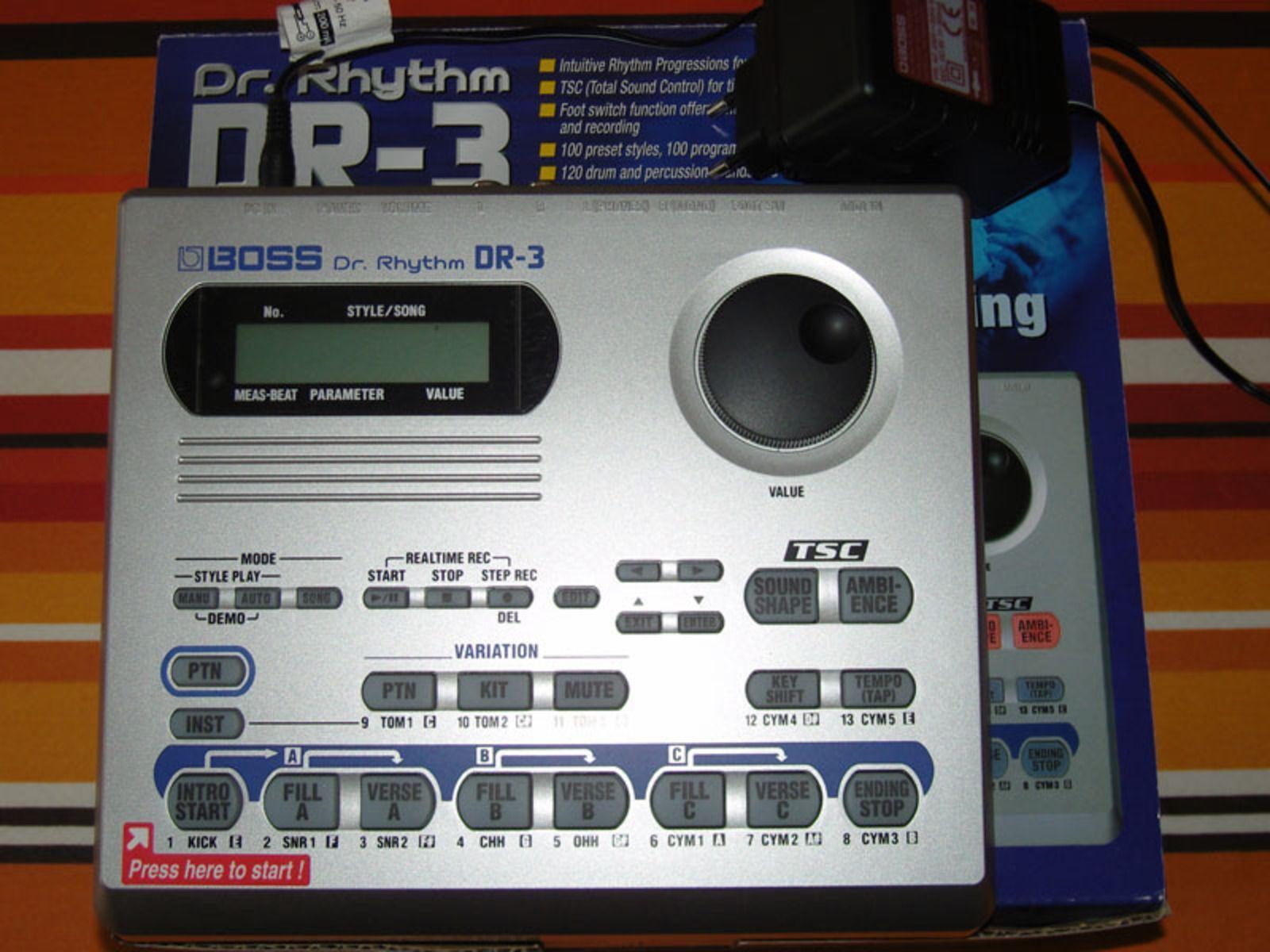 boss dr 3 dr rhythm image 37032 audiofanzine. Black Bedroom Furniture Sets. Home Design Ideas
