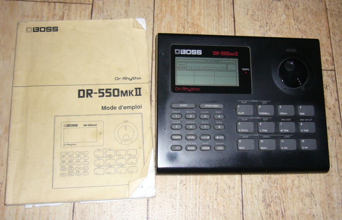 boss dr 550mkii dr rhythm image 172674 audiofanzine rh en audiofanzine com boss dr rhythm 550 manual boss dr 550 manual pdf