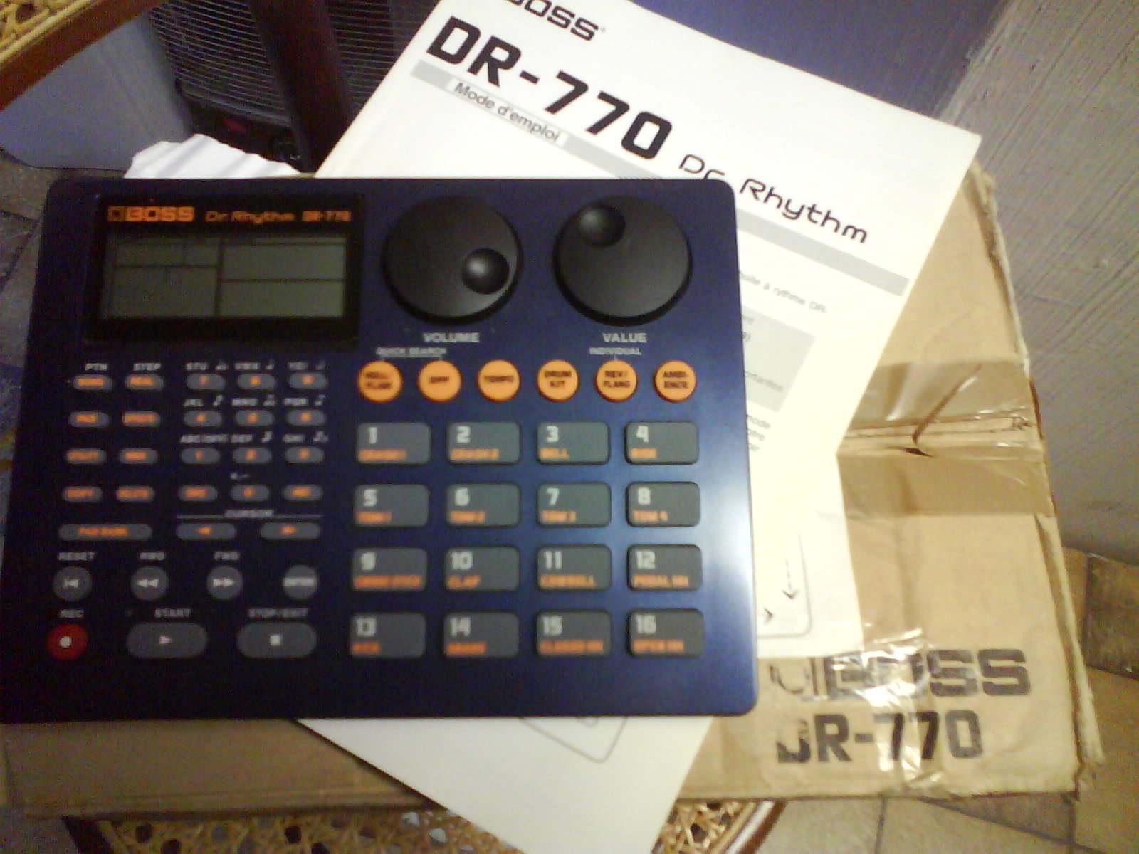 boss dr 770 dr rhythm image 110005 audiofanzine. Black Bedroom Furniture Sets. Home Design Ideas