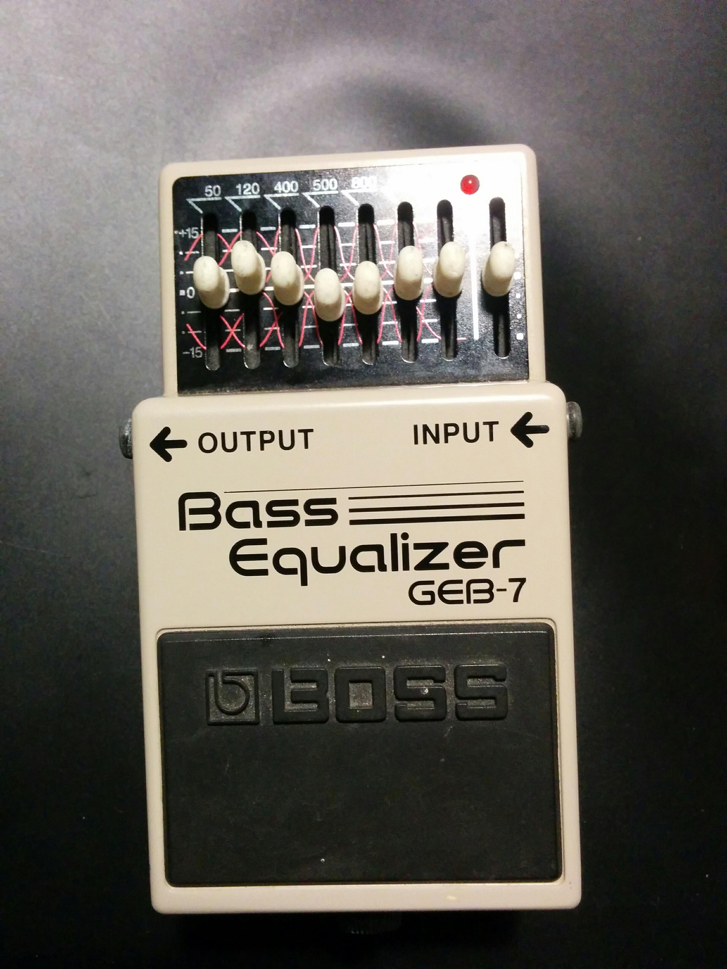 geb 7 bass equalizer boss geb 7 bass equalizer audiofanzine. Black Bedroom Furniture Sets. Home Design Ideas