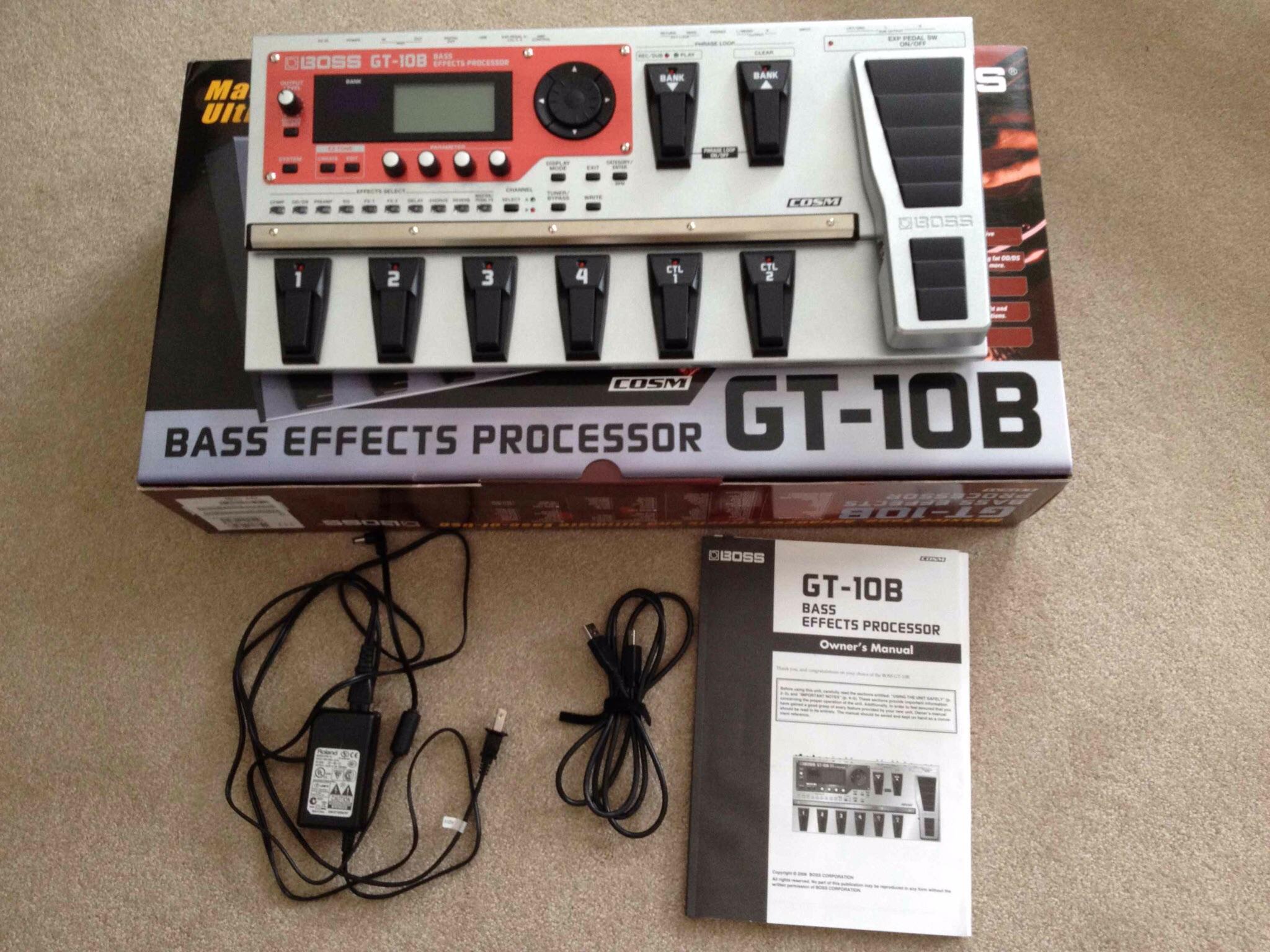 boss gt 10b image 1079882 audiofanzine rh en audiofanzine com gt 10 manual gt-10b manual español