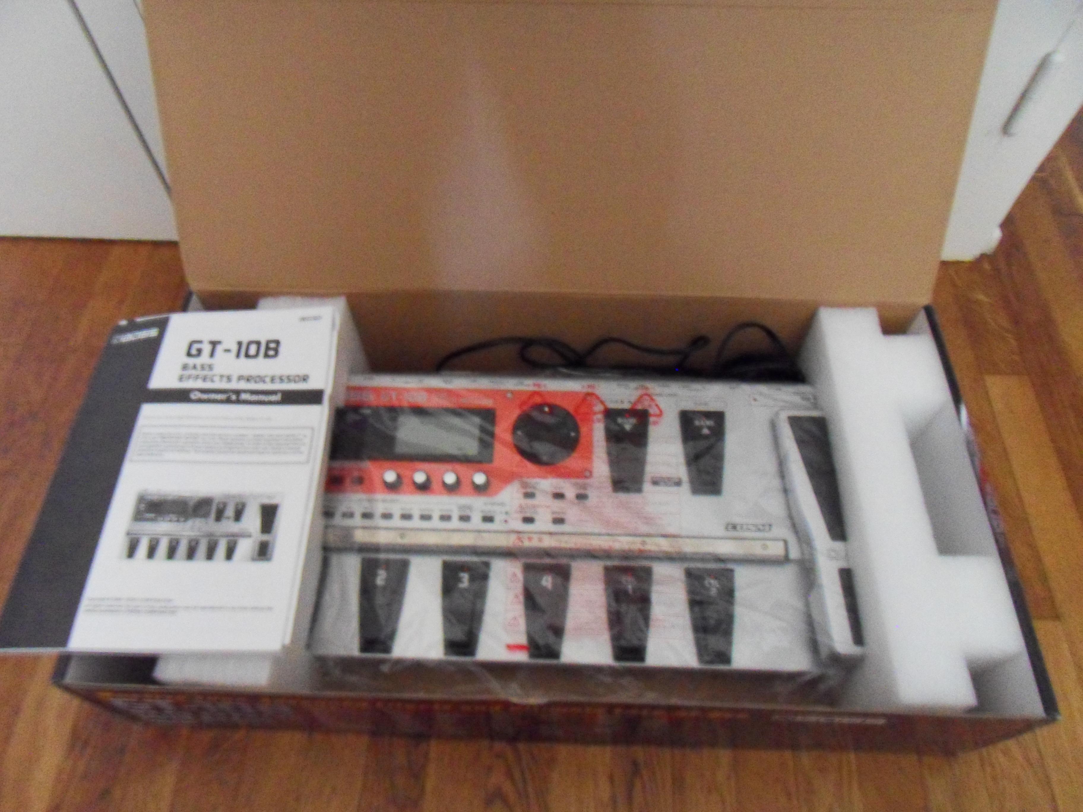 boss gt 10b image 599479 audiofanzine rh en audiofanzine com gt-10b bass effects processor manual gt-10b manual