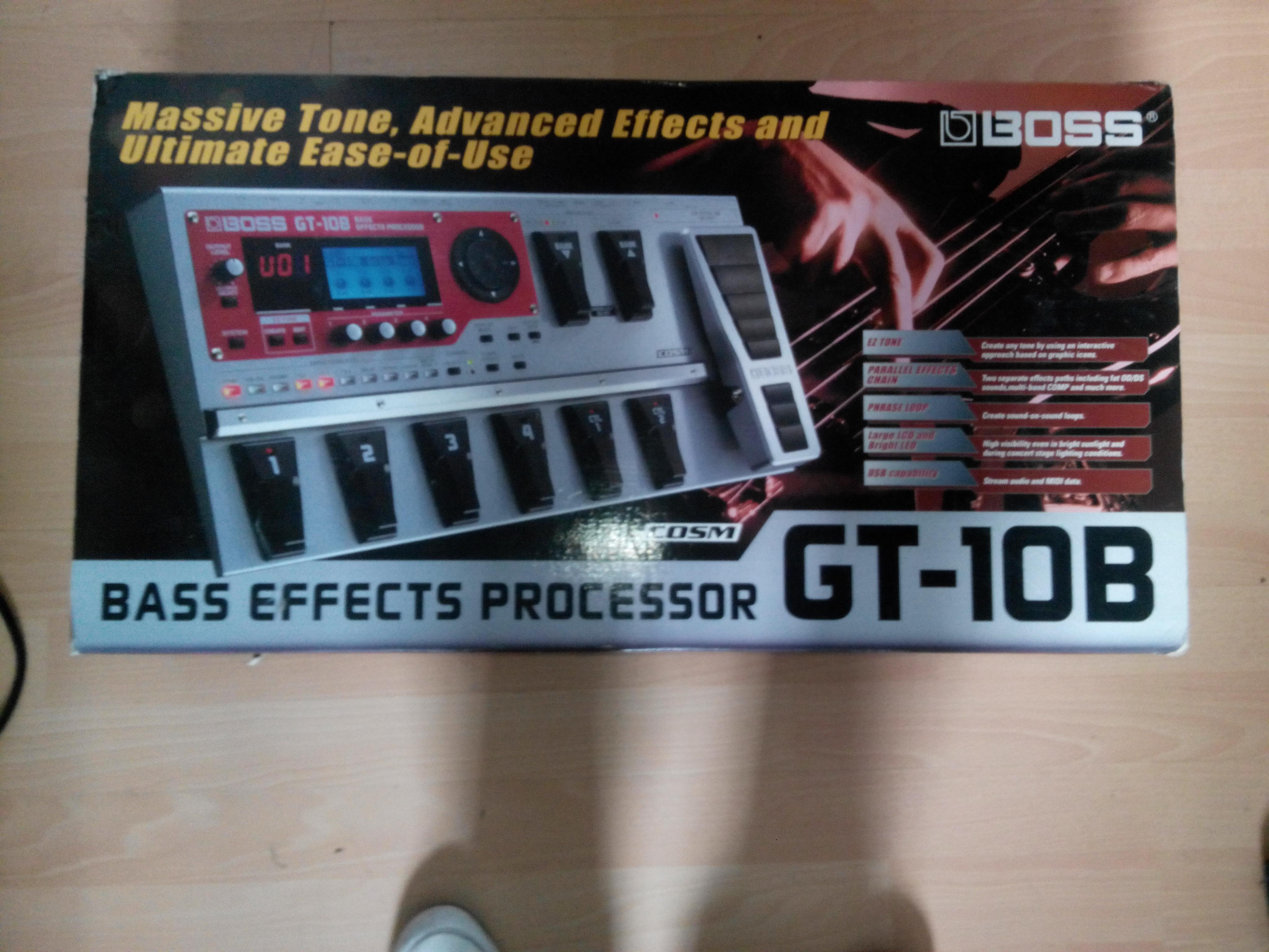 boss gt 10b image 771733 audiofanzine rh en audiofanzine com boss gt-10b manual download gt-10b manual pdf