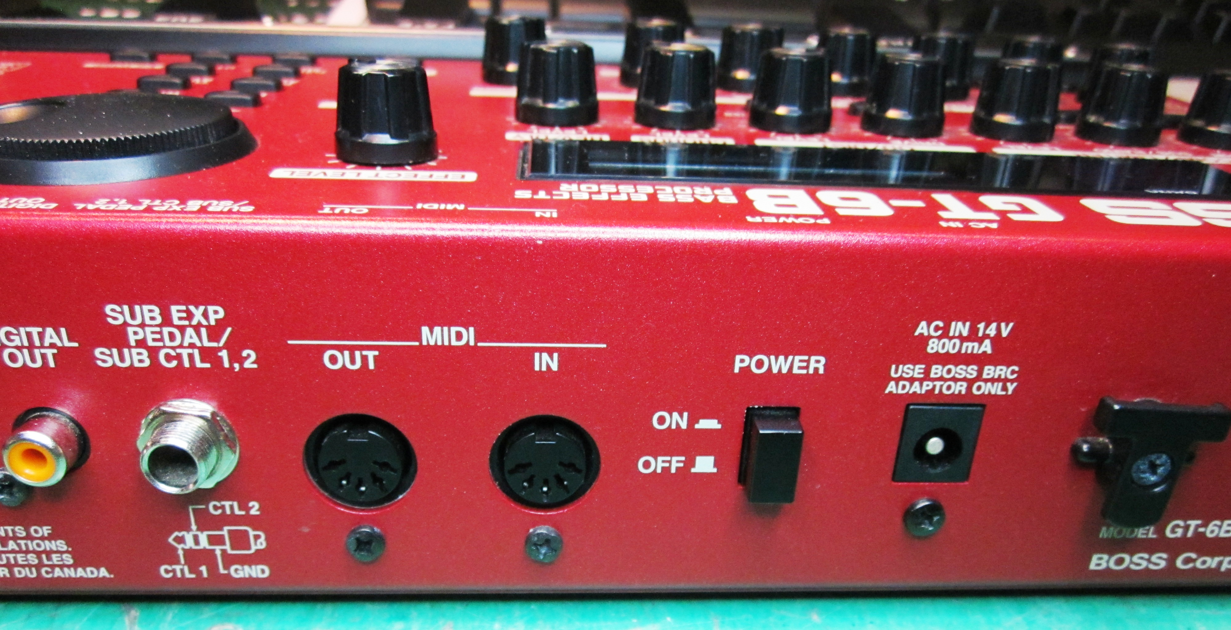 boss gt 6b image 738829 audiofanzine rh en audiofanzine com Boss GT 6B Review Boss GT-6B Bass