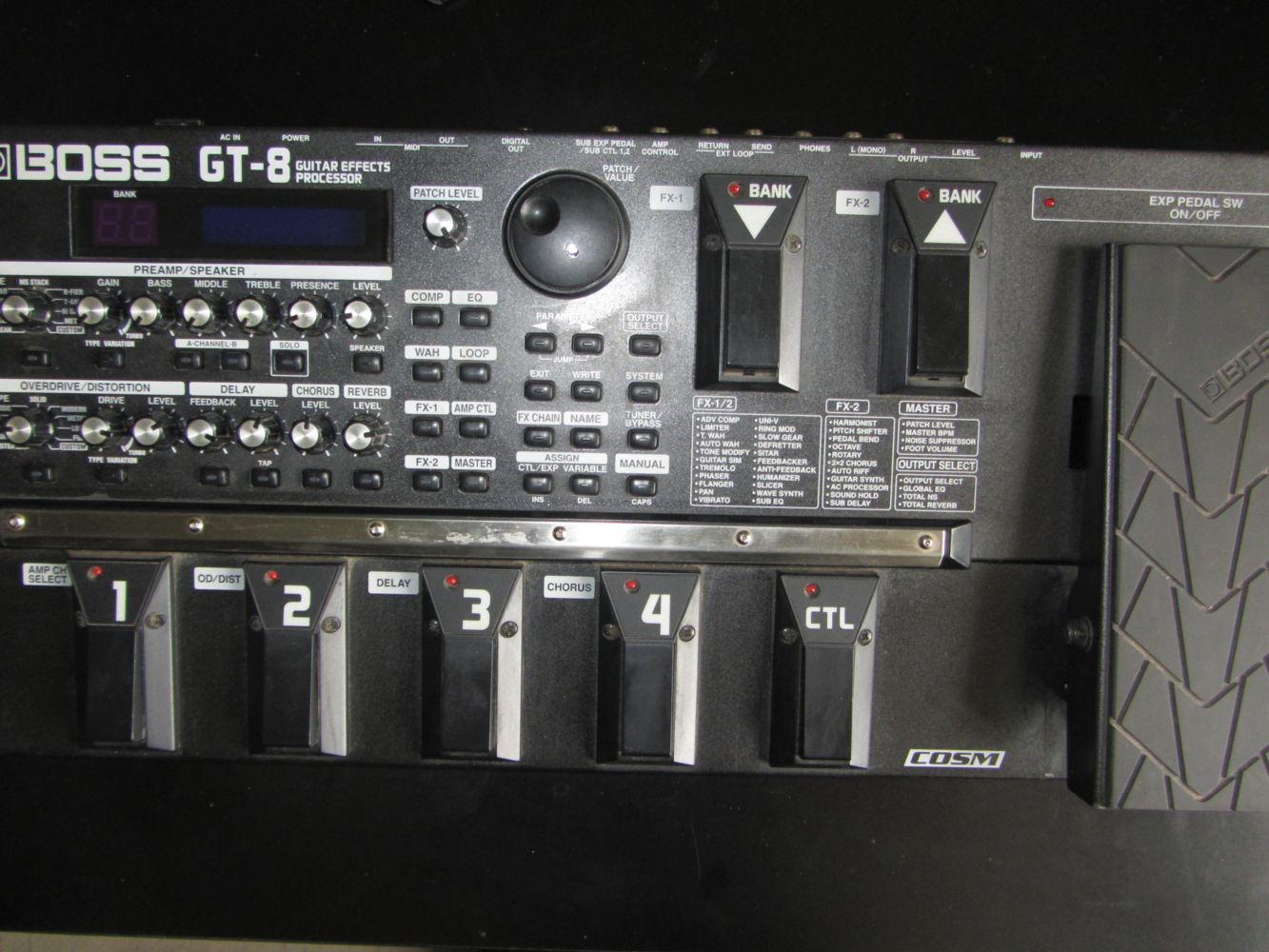 boss gt 8 image 1468468 audiofanzine rh en audiofanzine com boss gt 8 manual pdf download boss gt 8 manual pdf