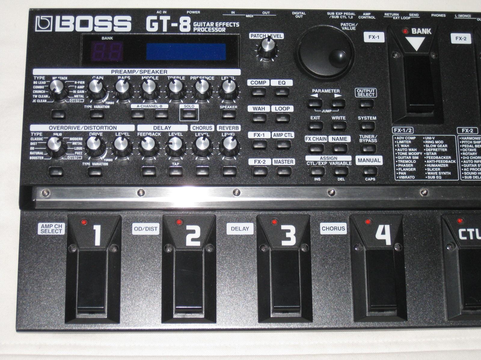 boss gt 8 image 331091 audiofanzine rh en audiofanzine com boss gt 8 manual español boss gt 8 manual español
