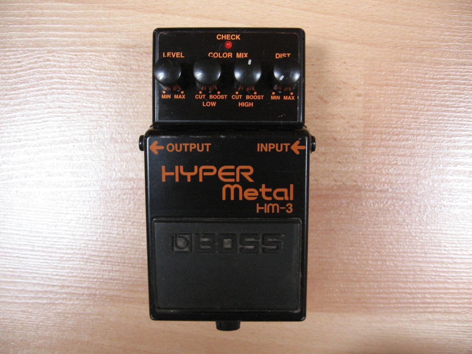 Boss Hyper Metal