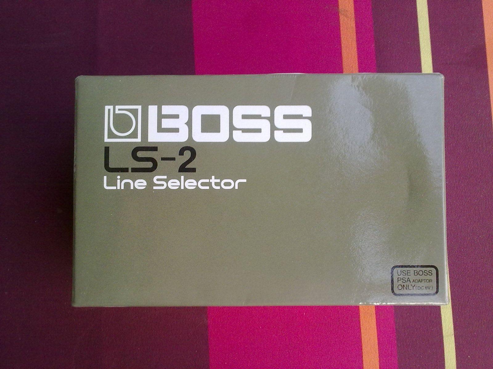 boss ls 2 line selector image 219874 audiofanzine. Black Bedroom Furniture Sets. Home Design Ideas