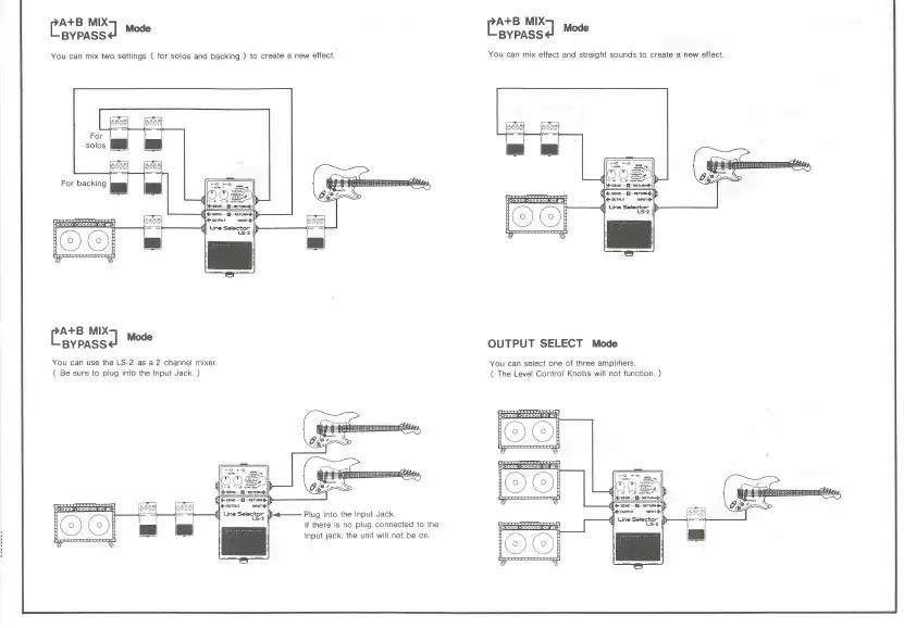 boss ls 2 line selector image 815503 audiofanzine. Black Bedroom Furniture Sets. Home Design Ideas