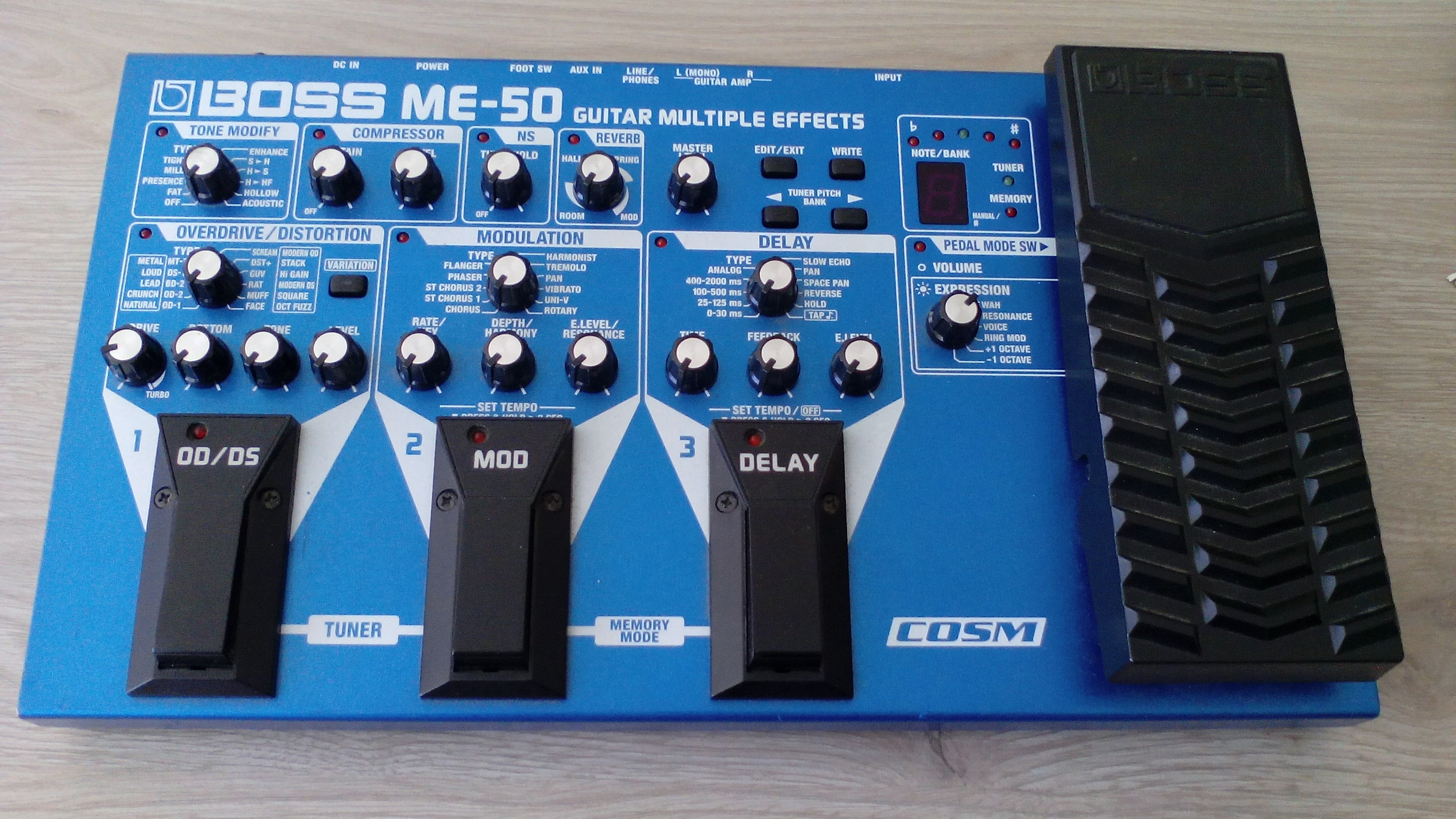 Boss ME-70 Guitar Effects Pedal User Reviews | zZounds