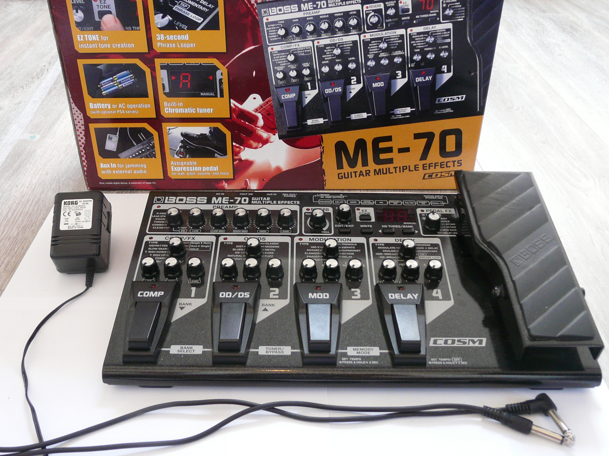 BOSS - ME-70 | Guitar Multiple Effects