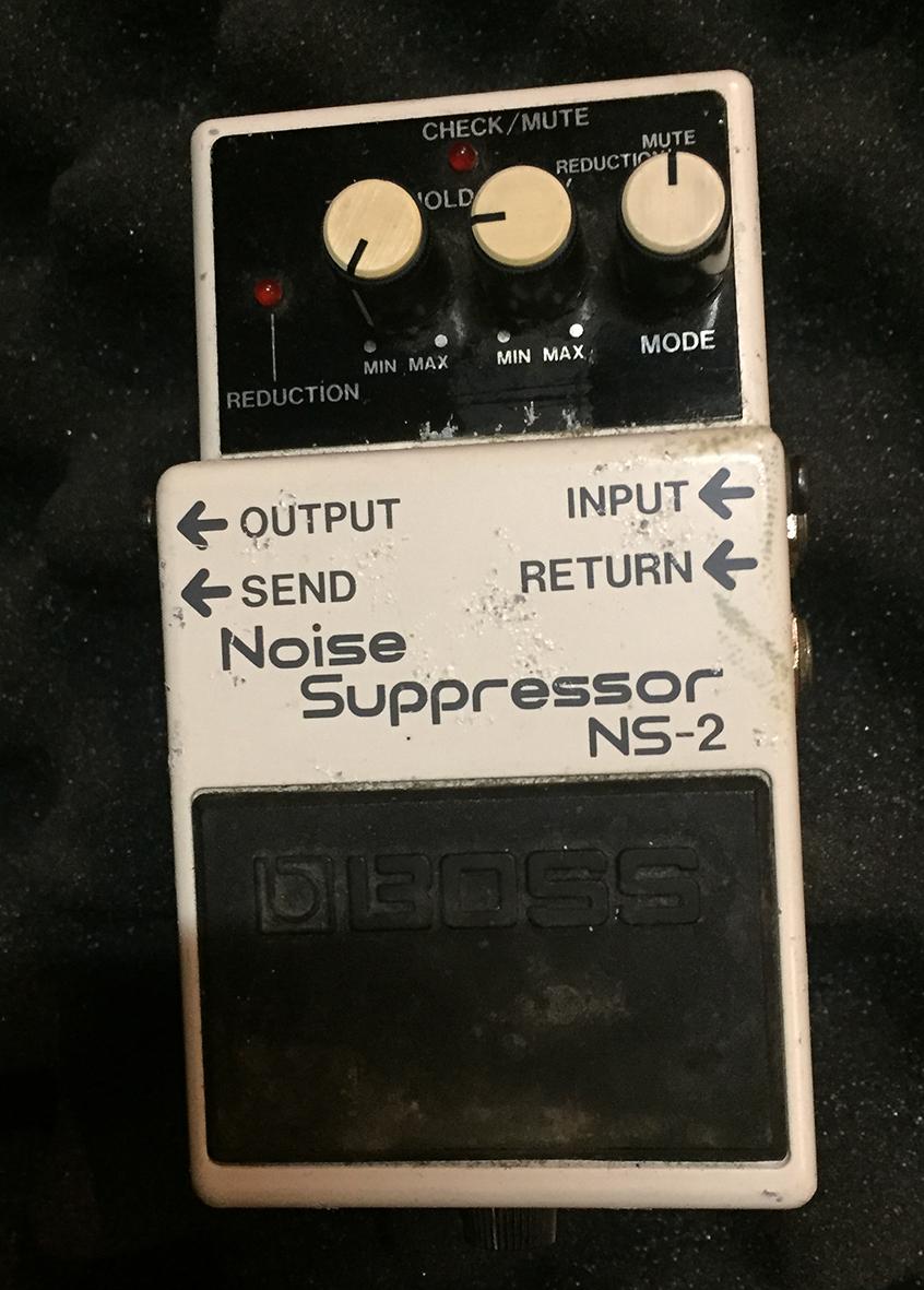 Eяяаtom's review - Boss NS-2 Noise Suppressor - Audiofanzine