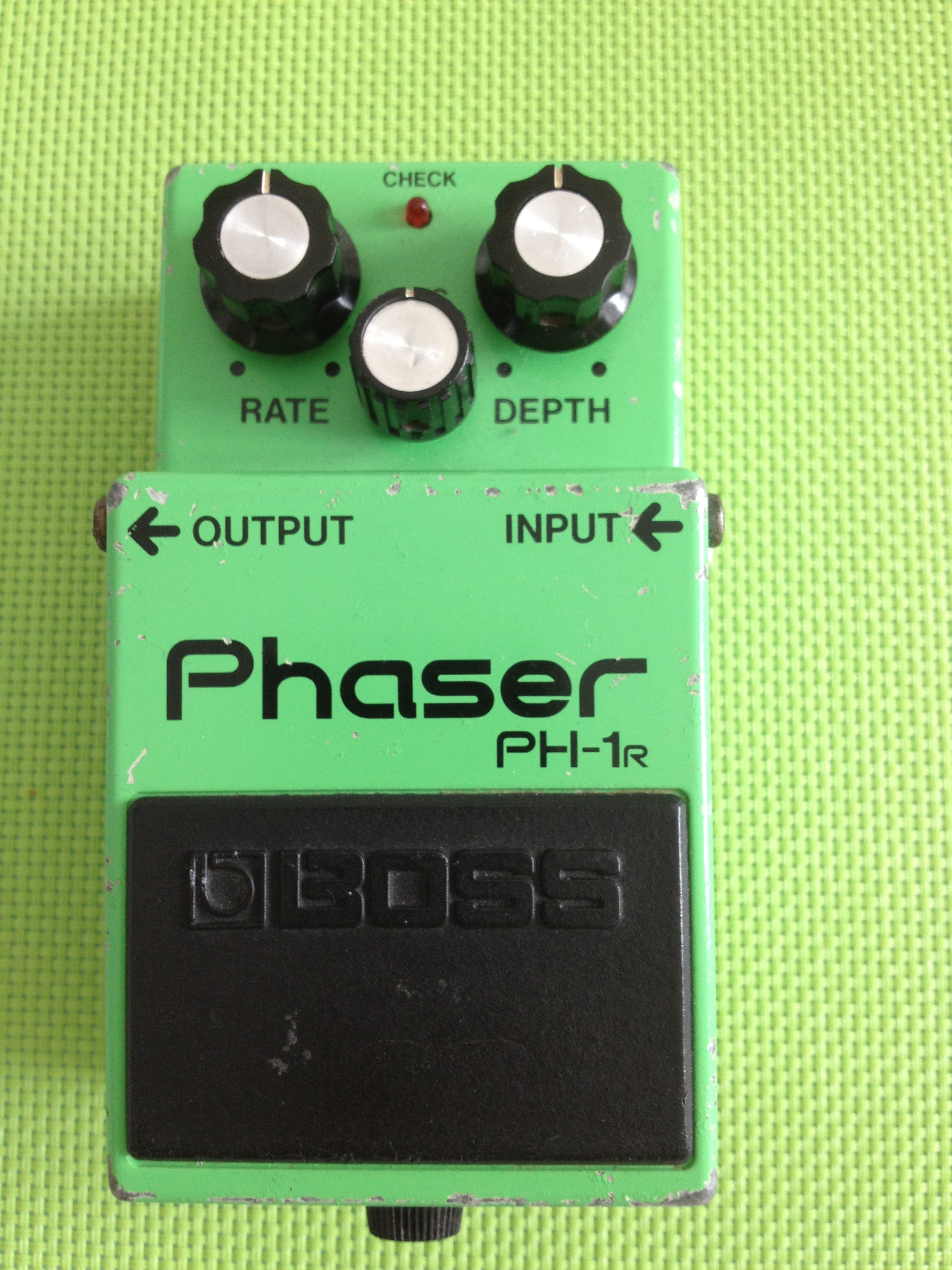 Boss Pedal Review 43 Ph 1 Phaser Manual Guide