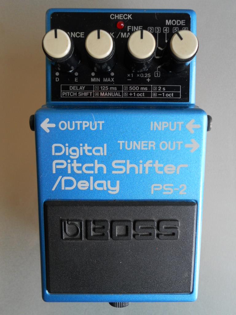 boss ps 2 digital pitch shifter delay image 614796 audiofanzine. Black Bedroom Furniture Sets. Home Design Ideas
