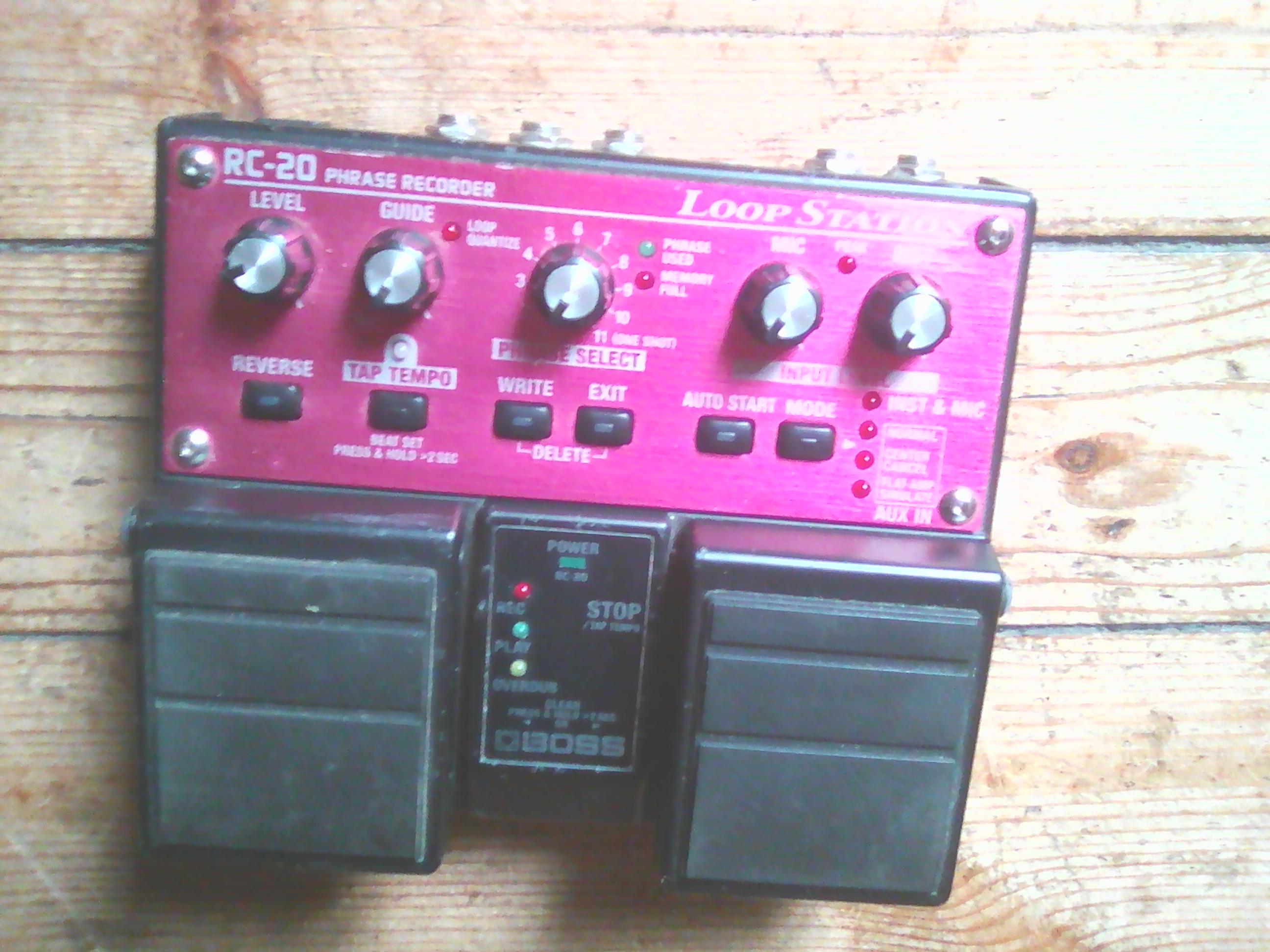 boss rc 300 loop station manual