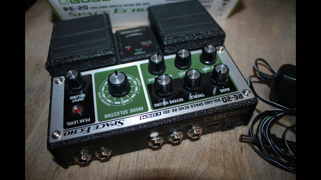 Re 20 Space Echo Boss Re 20 Space Echo Audiofanzine