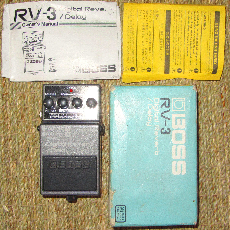 boss rv 3 digital reverb delay image 892407 audiofanzine rh en audiofanzine com Boss Digital Reverb Pedal Boss RV-3 Sch
