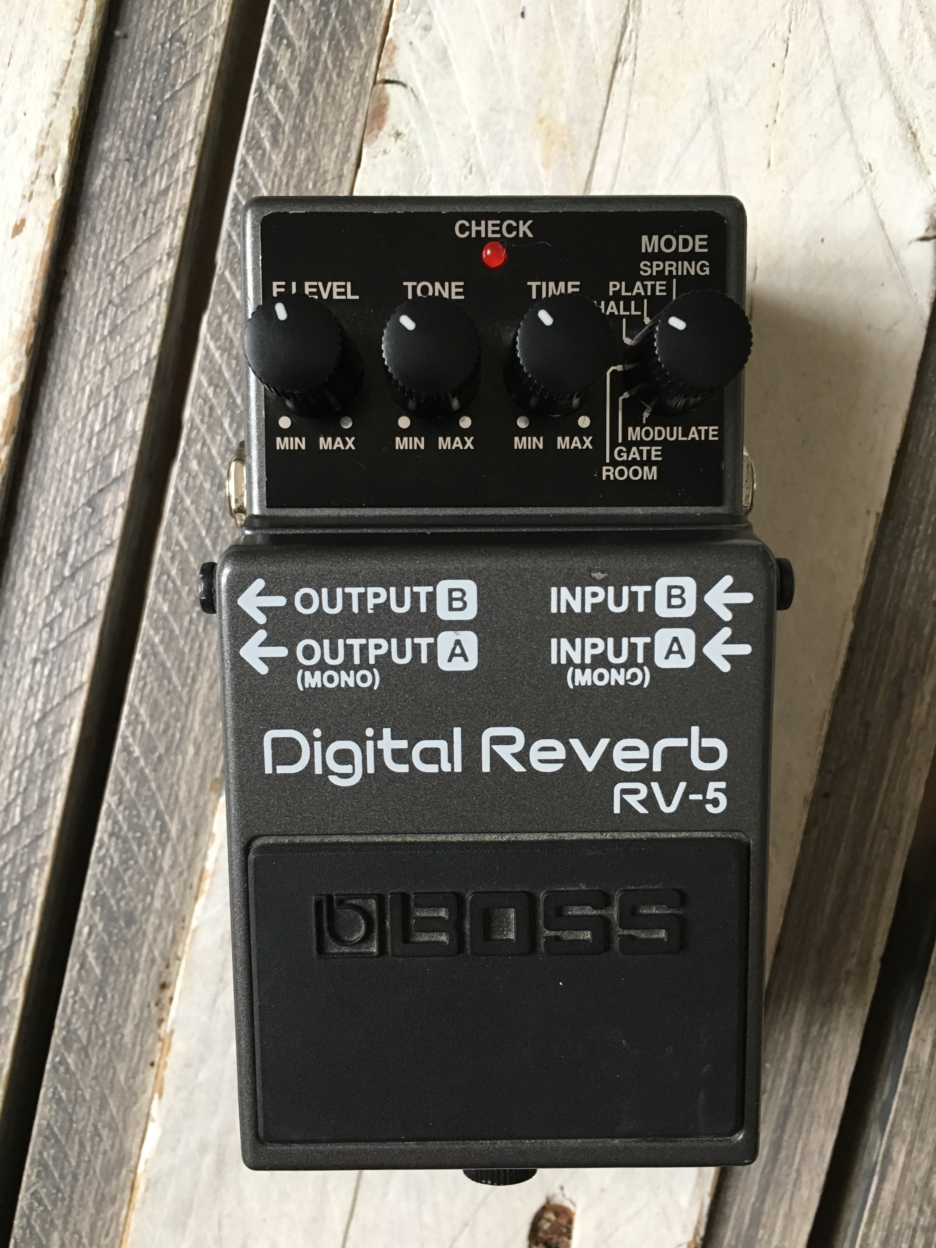 Boss RV 5 Digital Reverb | SynthXL - FREE Service Manual