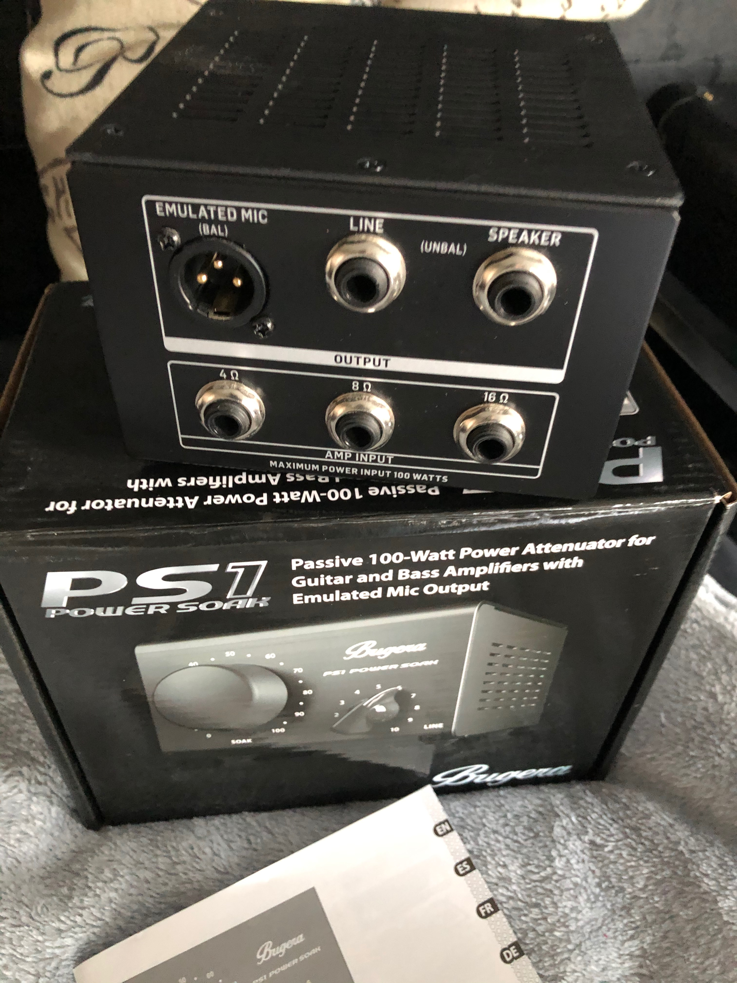 Ps1 Power Soak Bugera Ps1 Power Soak Audiofanzine