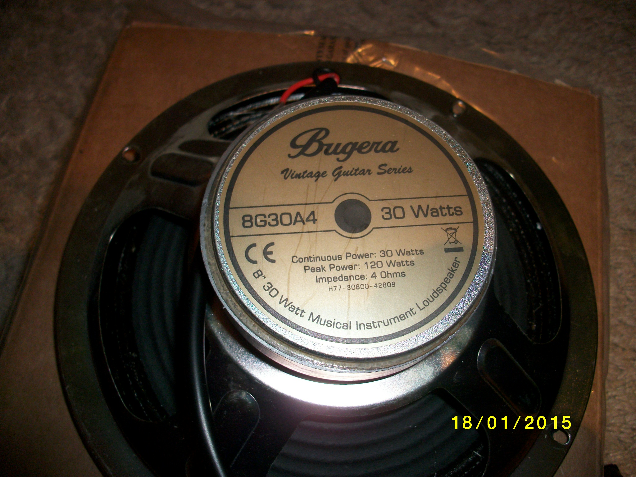 Bugera V22 Vintage 22 Guitar Combo Röhrenverstärker