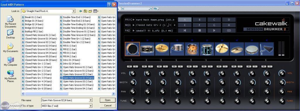 Tutorial: Basics of Session Drummer 2 in Sonar 6 &