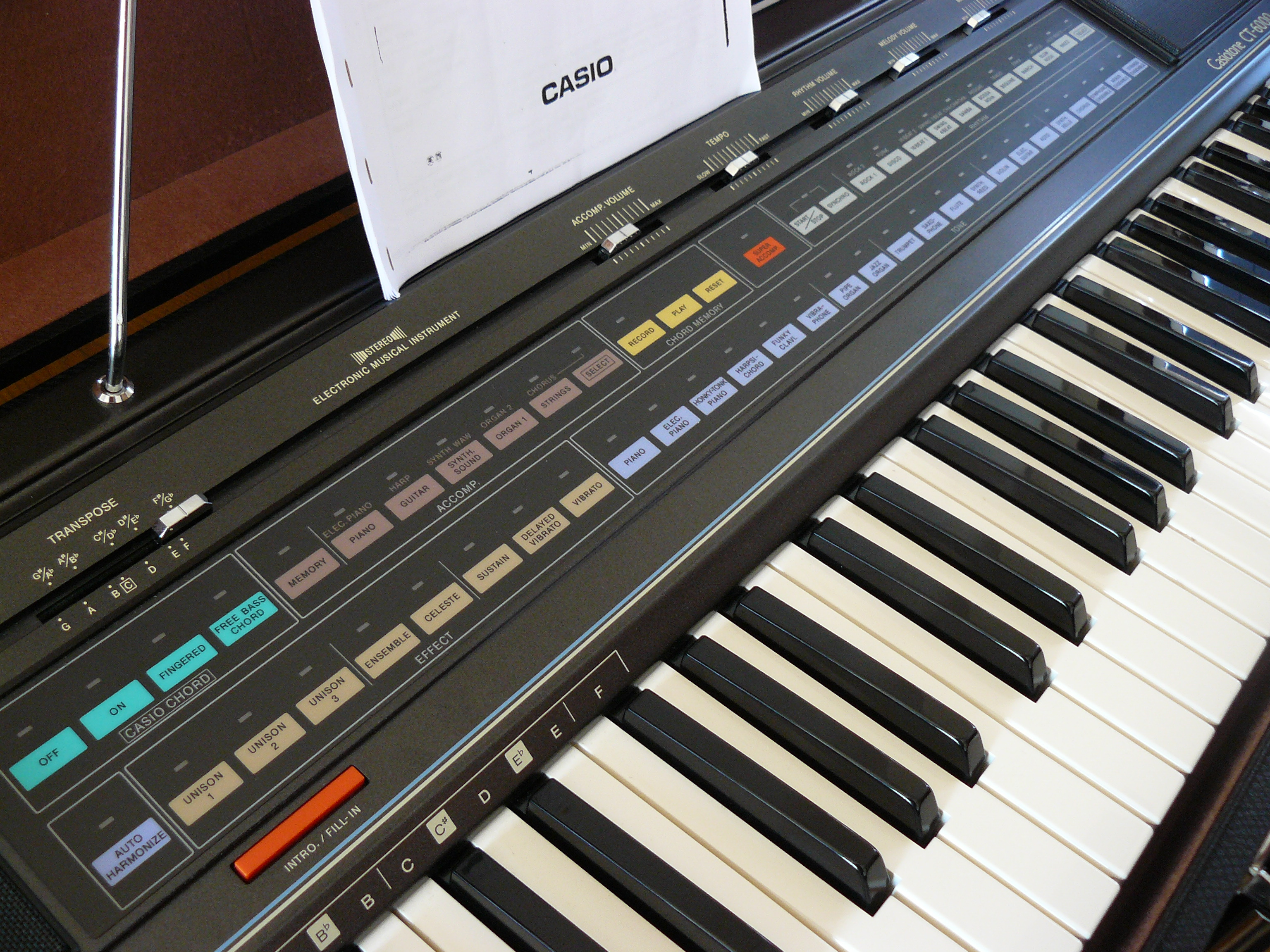 Casiotone Ct6000 Casio Casiotone Ct6000 Audiofanzine Buy Supra D