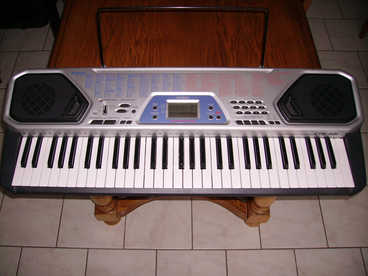 casio ctk 481