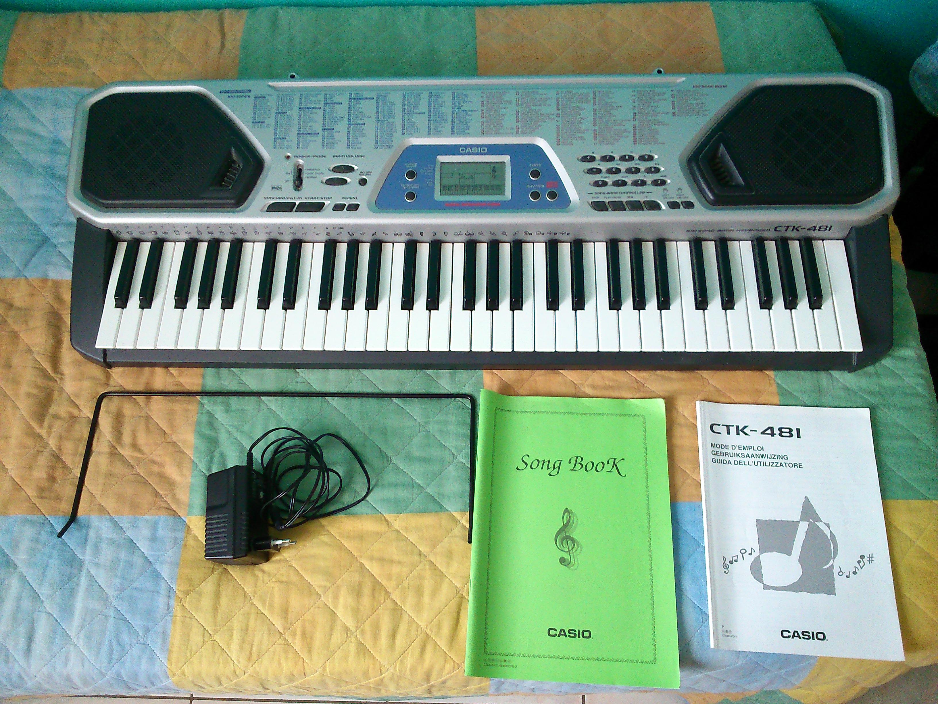 casio ctk 481 image 873634 audiofanzine rh en audiofanzine com Electronic Keyboard Casio Ctk 671 Casio Ctk 511 Keyboard
