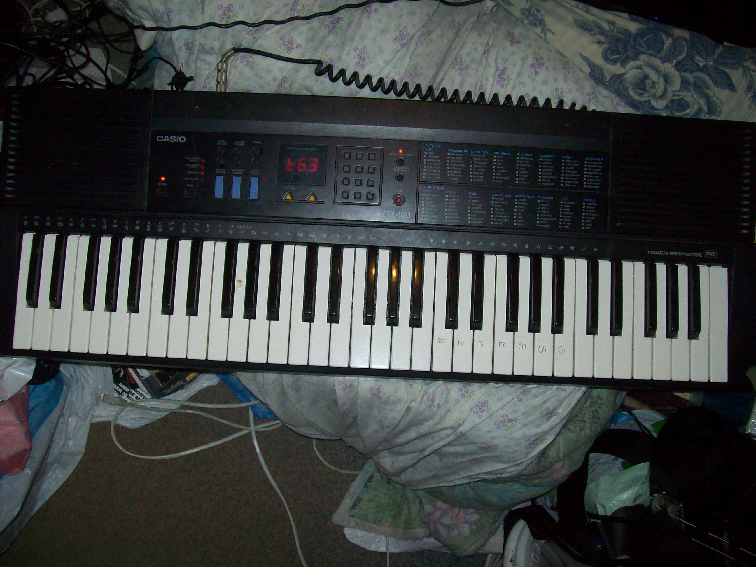 casio ctk 530 image 427231 audiofanzine rh en audiofanzine com Casio Ctk 8000 Casio Keyboard CTK 591