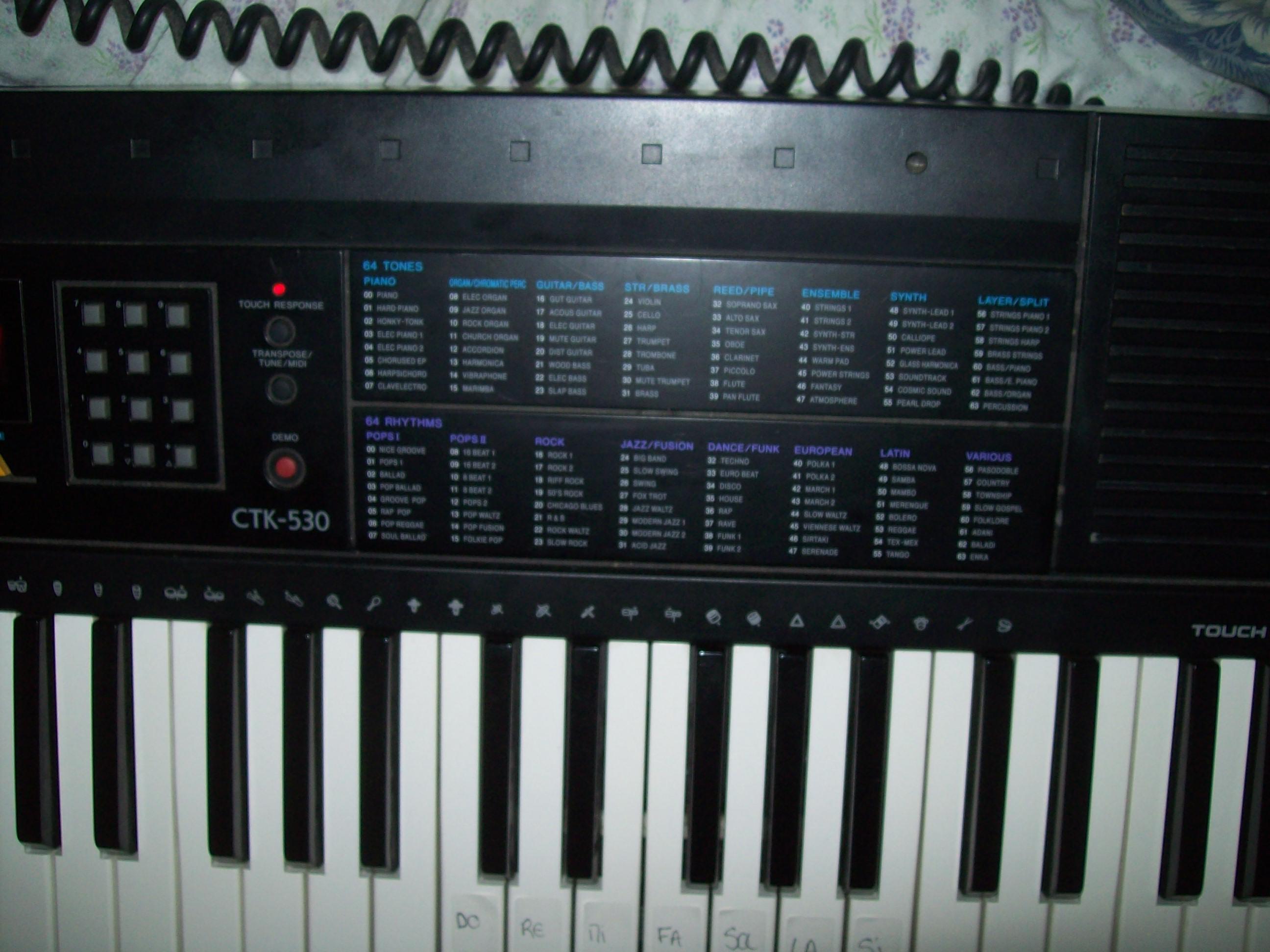 casio ctk 530 image 427232 audiofanzine rh en audiofanzine com Casio Keyboard CTK 533 Casio CTK- 6000