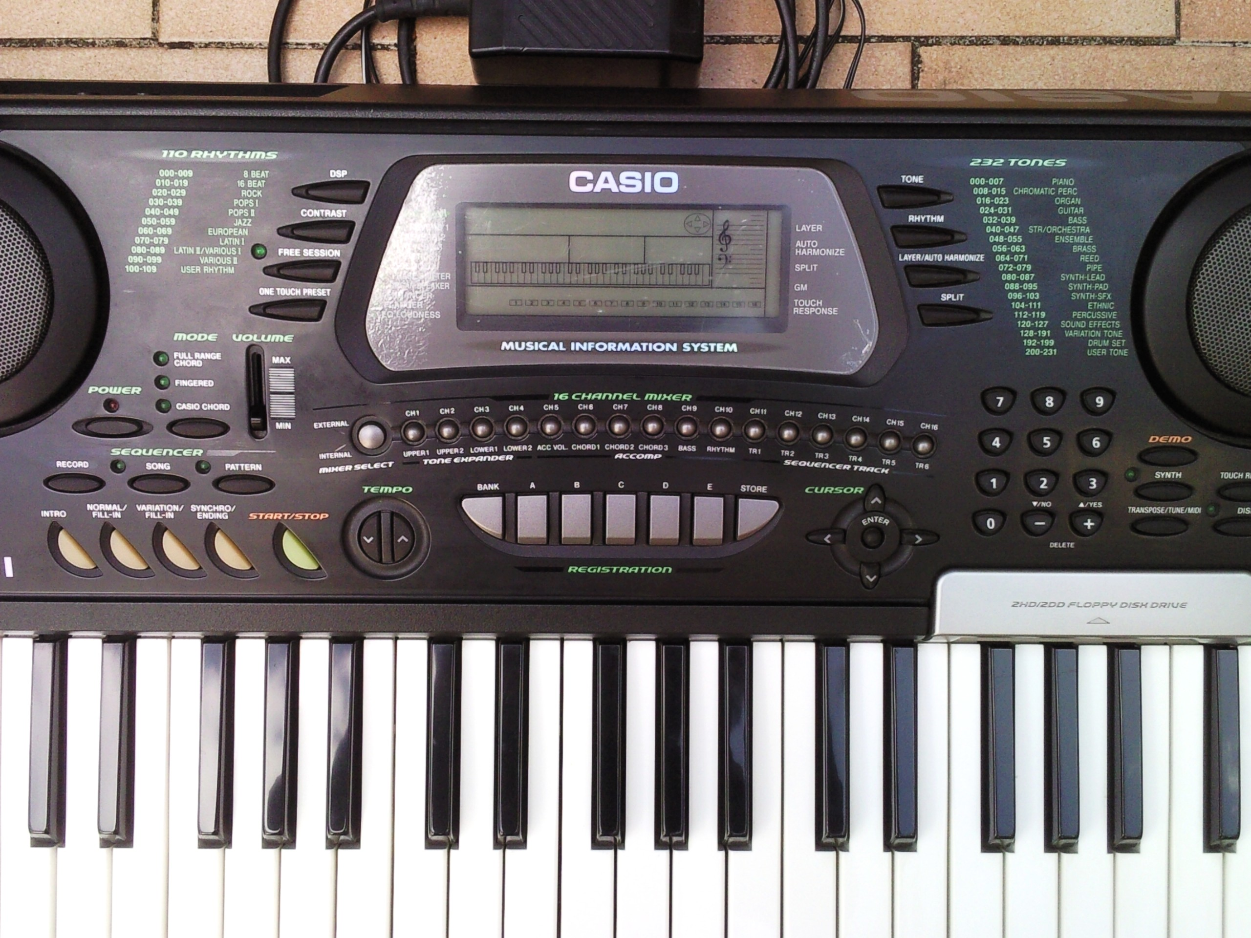 Home Guitar Studio Design Casio Ctk 731 Image 589215 Audiofanzine