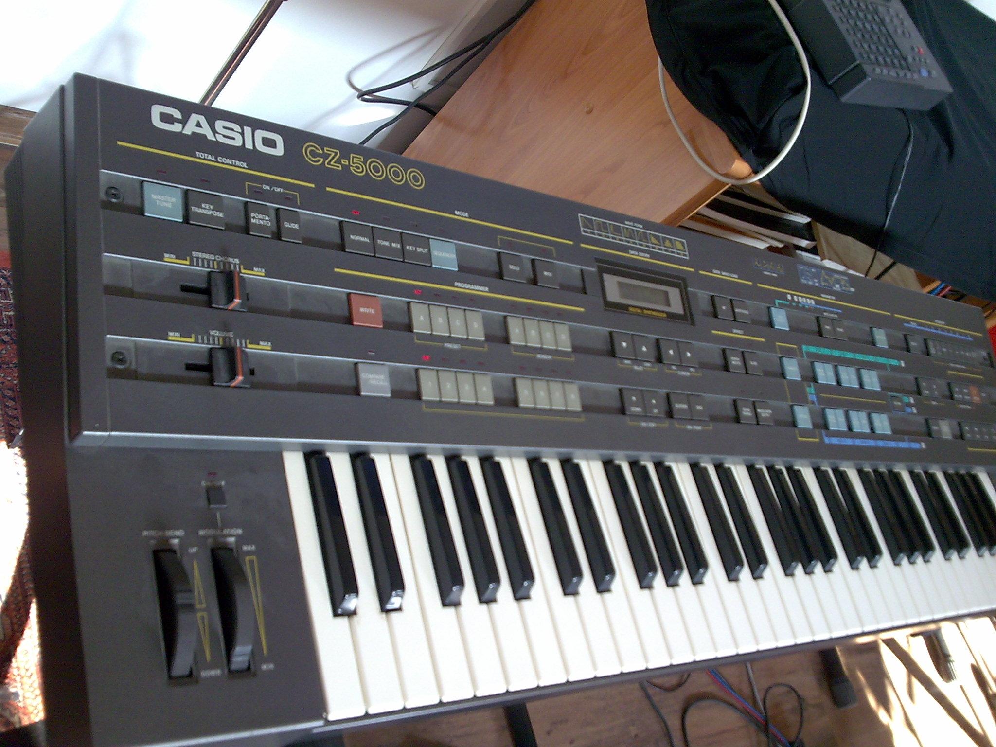 casio cz 5000 image 469379 audiofanzine rh en audiofanzine com Casio CZ 5000 Synthesizer