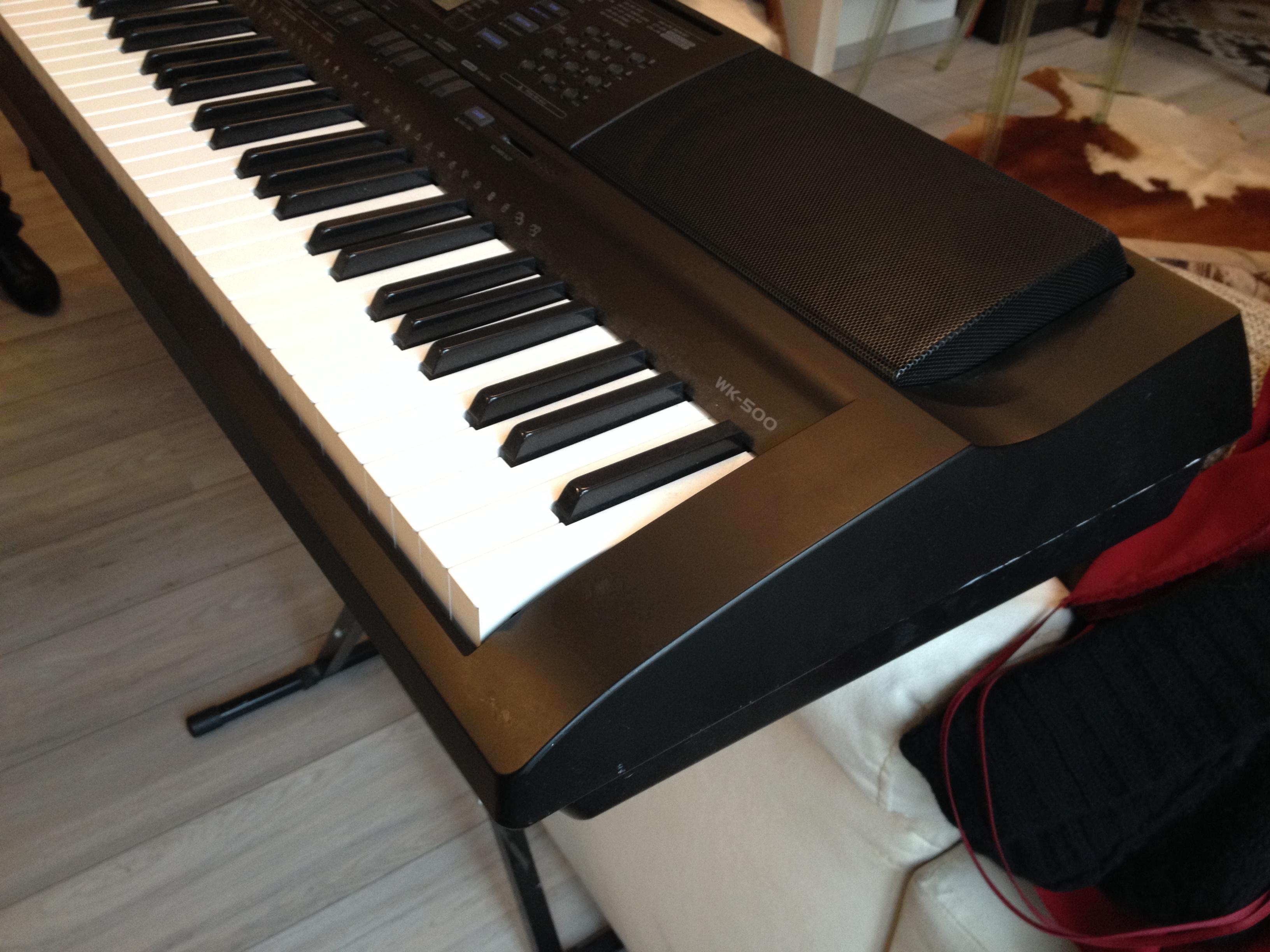 Casio Wk 500 Keyboard : casio wk 500 image 1006605 audiofanzine ~ Hamham.info Haus und Dekorationen