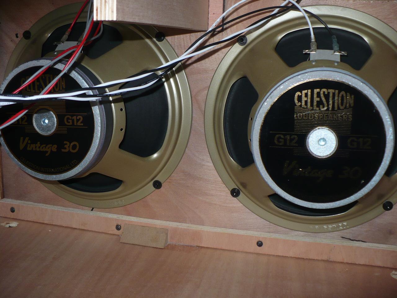 celestion vintage 30 8 ohms image 1675151 audiofanzine. Black Bedroom Furniture Sets. Home Design Ideas
