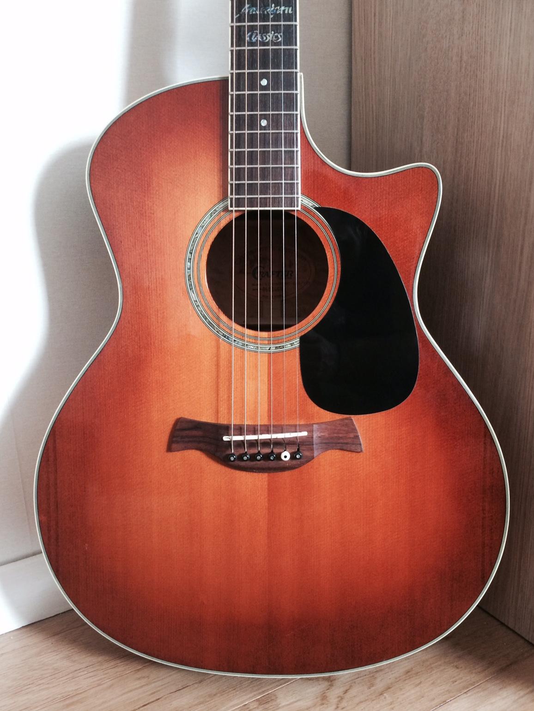 Guitare folk crafter 88 gae vtg housse offerte ile de for Housse guitare folk