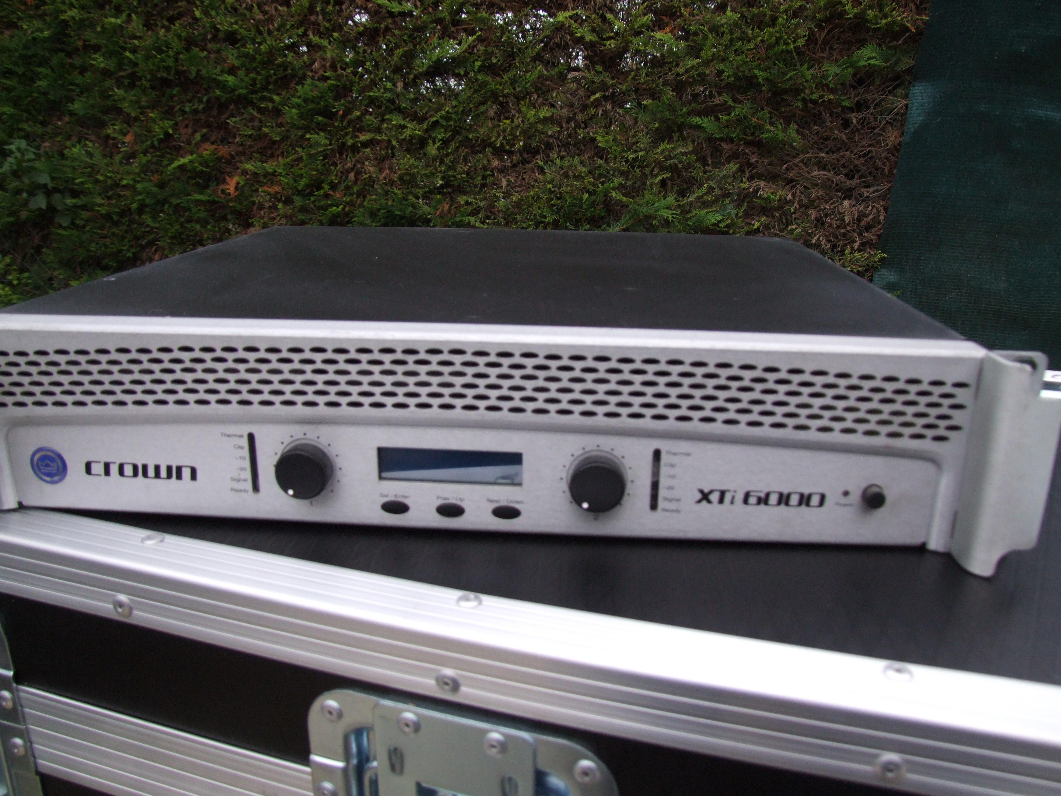 Crown Xti 6000 : xti 6000 crown xti 6000 audiofanzine ~ Russianpoet.info Haus und Dekorationen