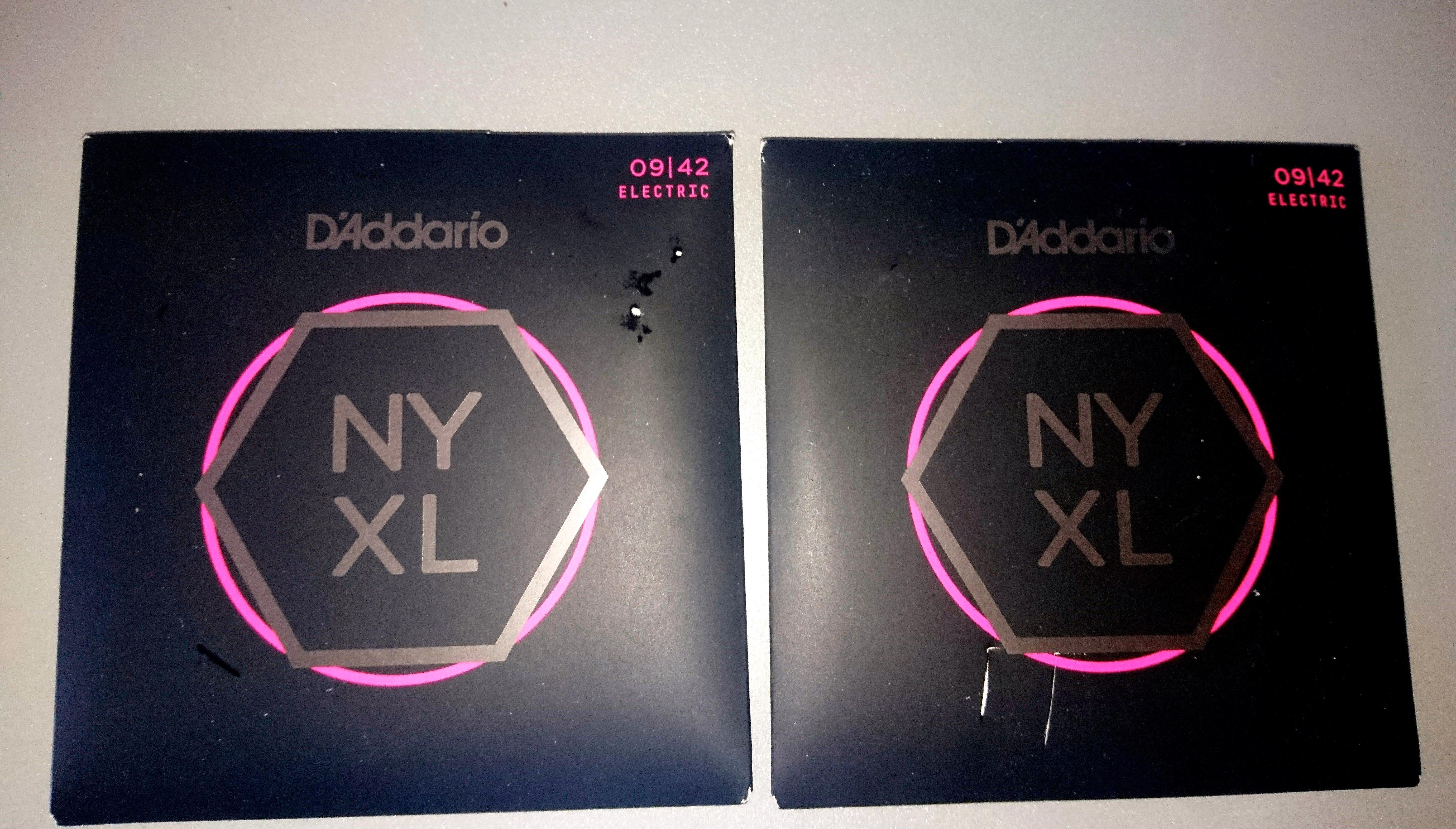 D'Addario NYXL Nickel Wound Electric Guitar image ...