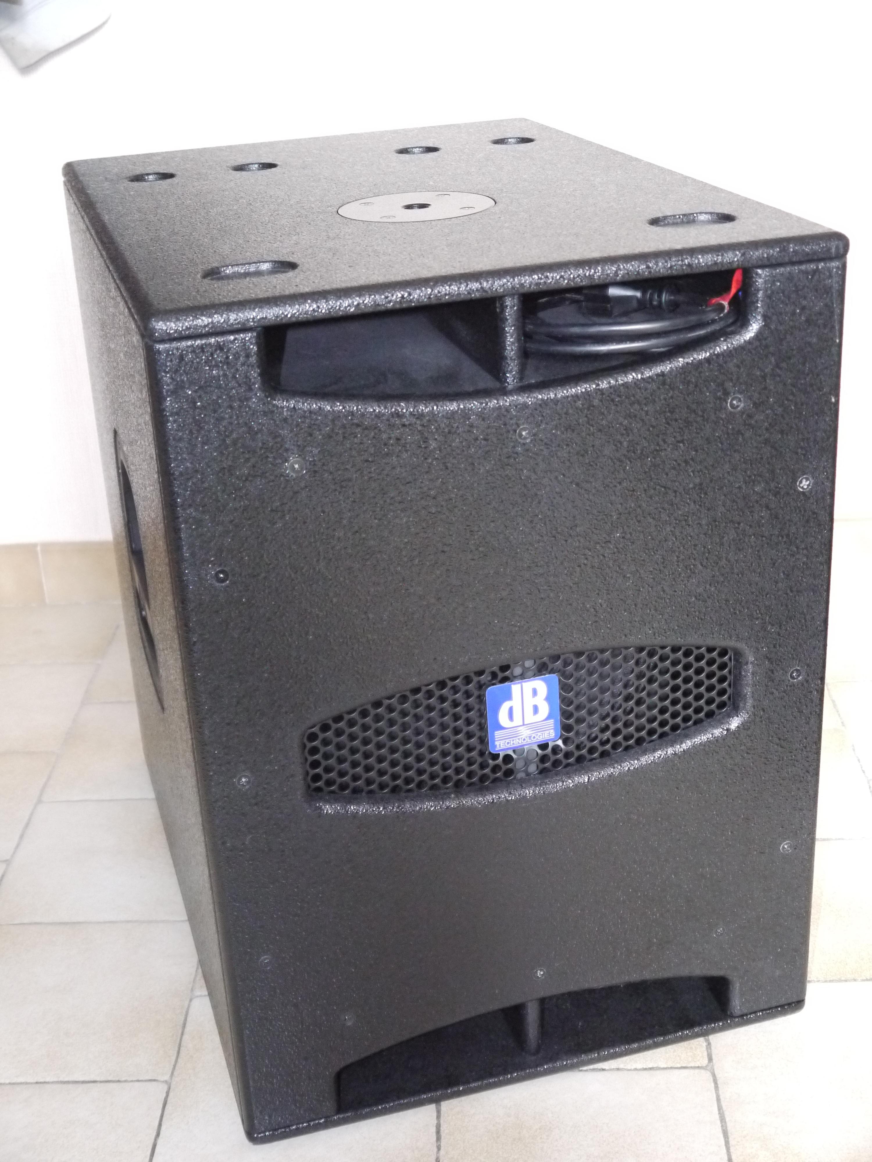SUB 15D - dB Technologies Sub 15D - Audiofanzine