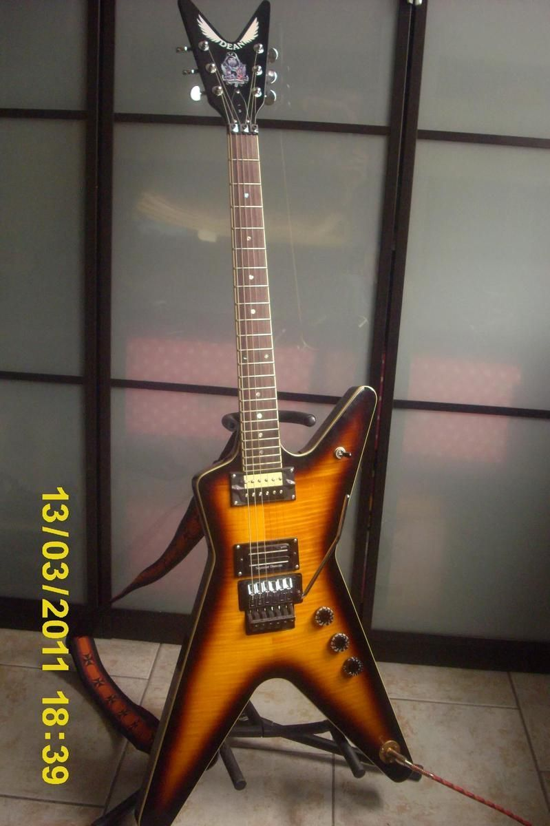 Dean Guitars Dimebag Dean guitars dimebag ml fbd