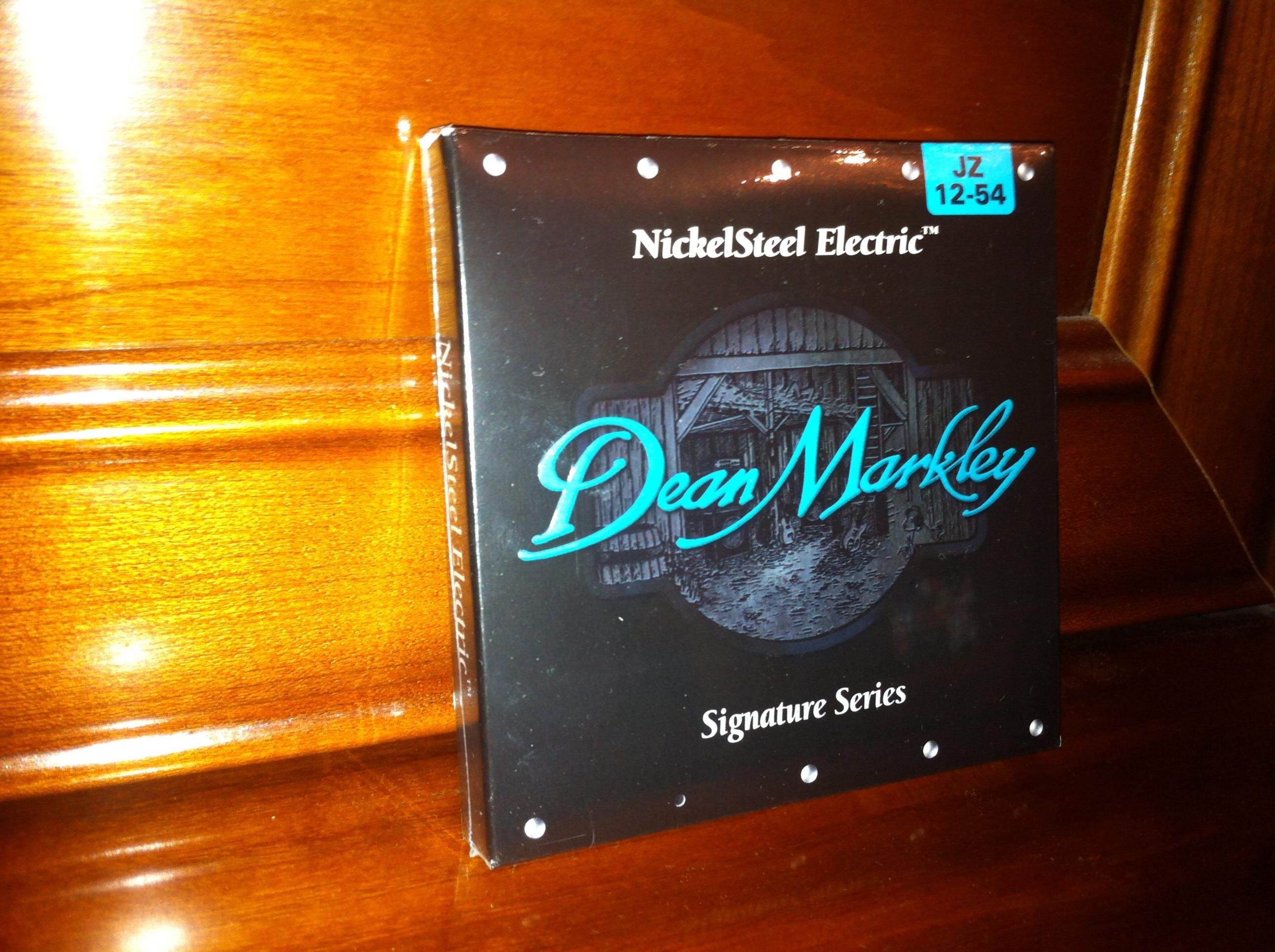 Nickelsteel Electric 2506 12 54 Jz Jazz Dean Markley